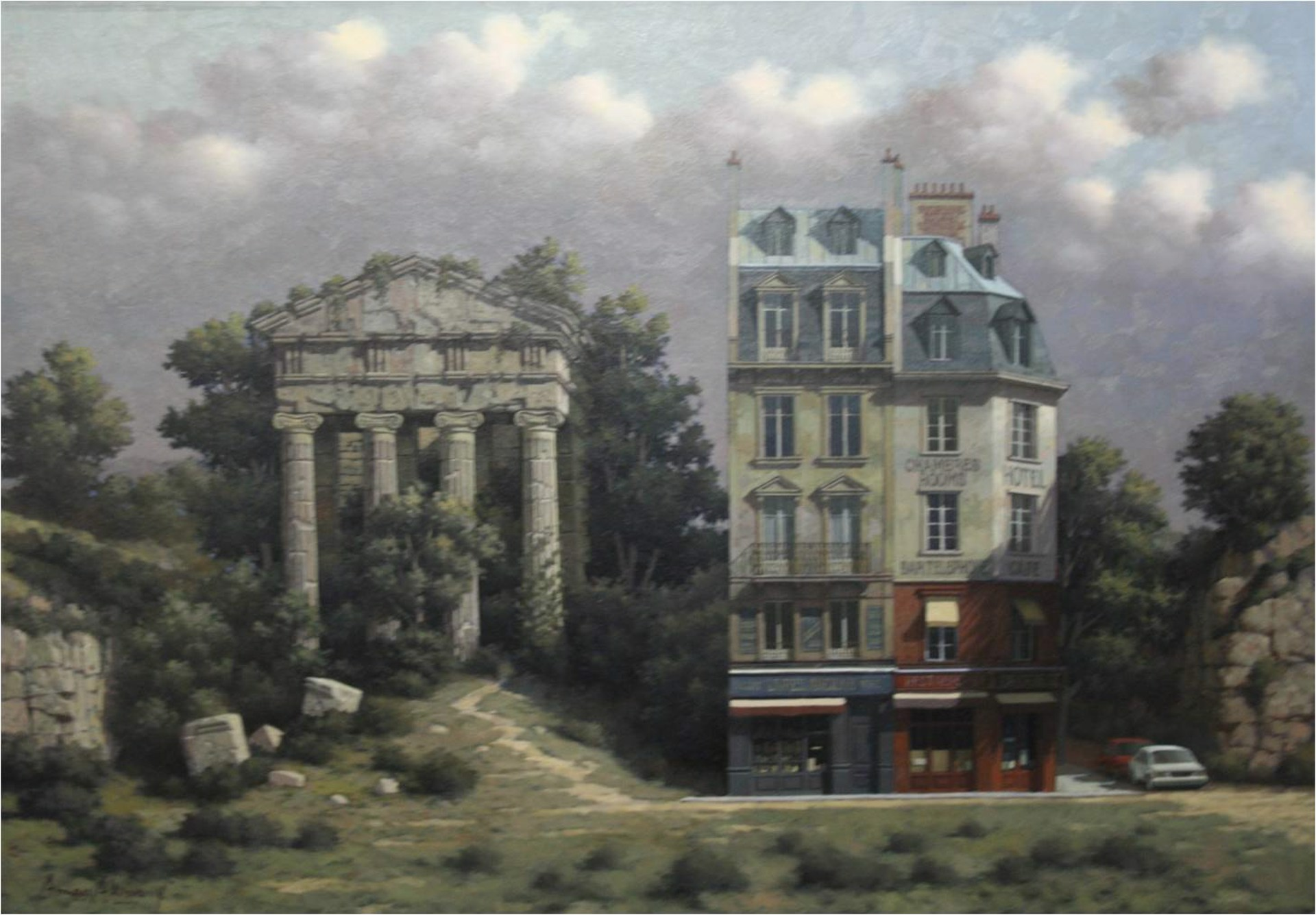 Ionic Temple 10/7 by Arnau Alemany