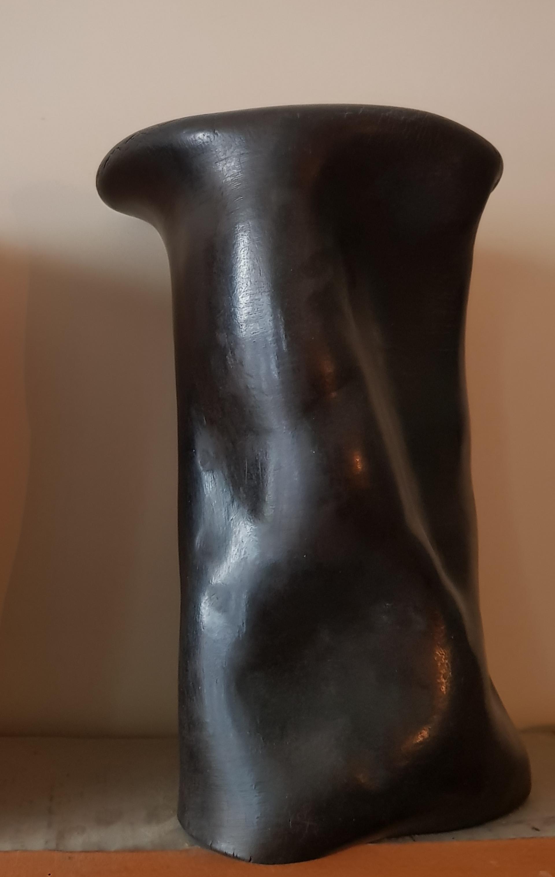 """""""Tenir Debout"""" Ceramic sculpture by Claire de Lavallee"""