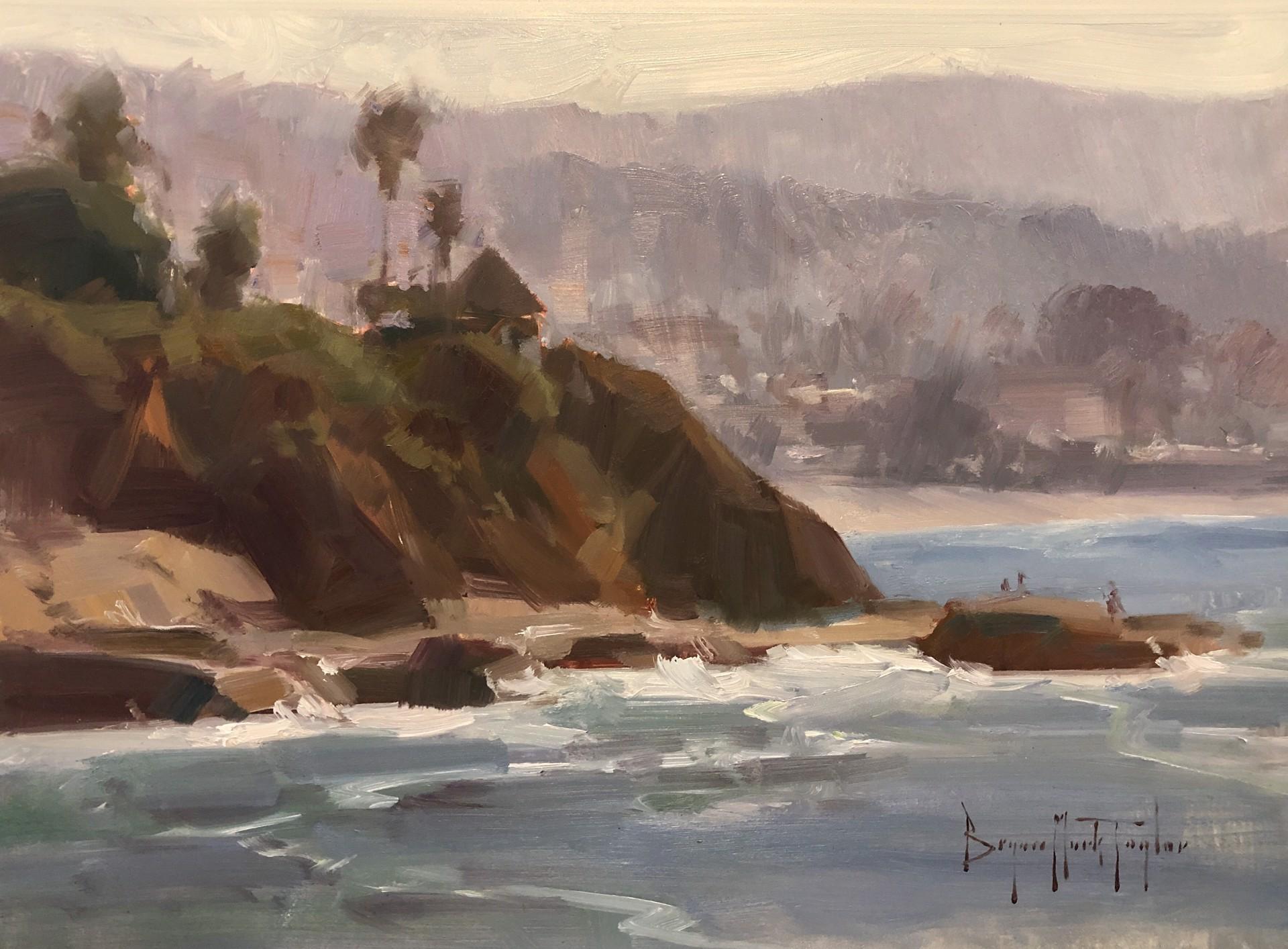 Morning At Main Beach by Bryan Mark Taylor
