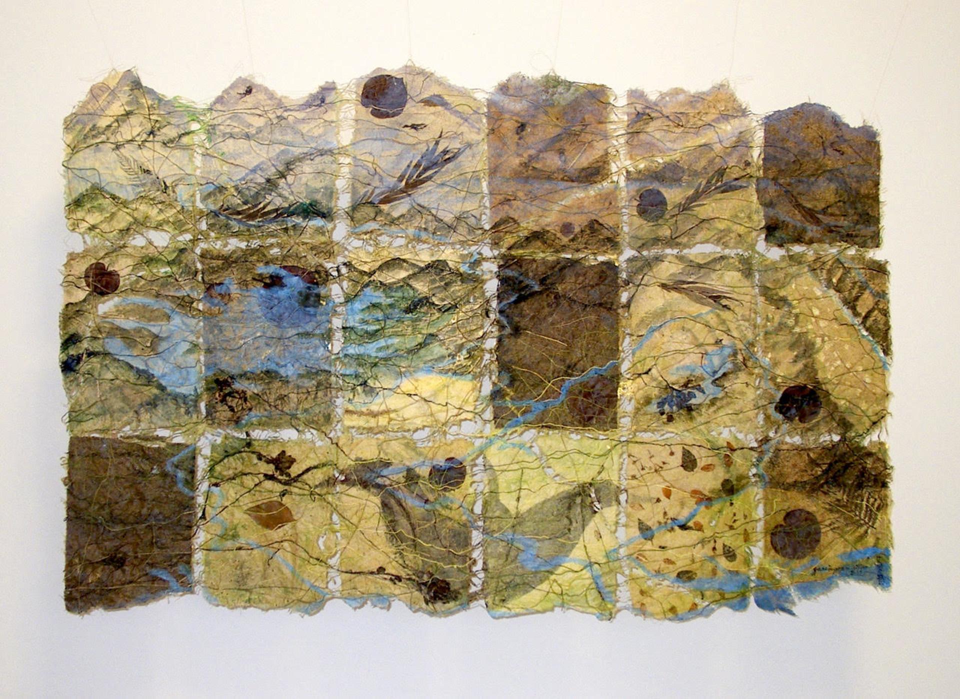 TAINAN SITE MAP by Jane Ingram Allen