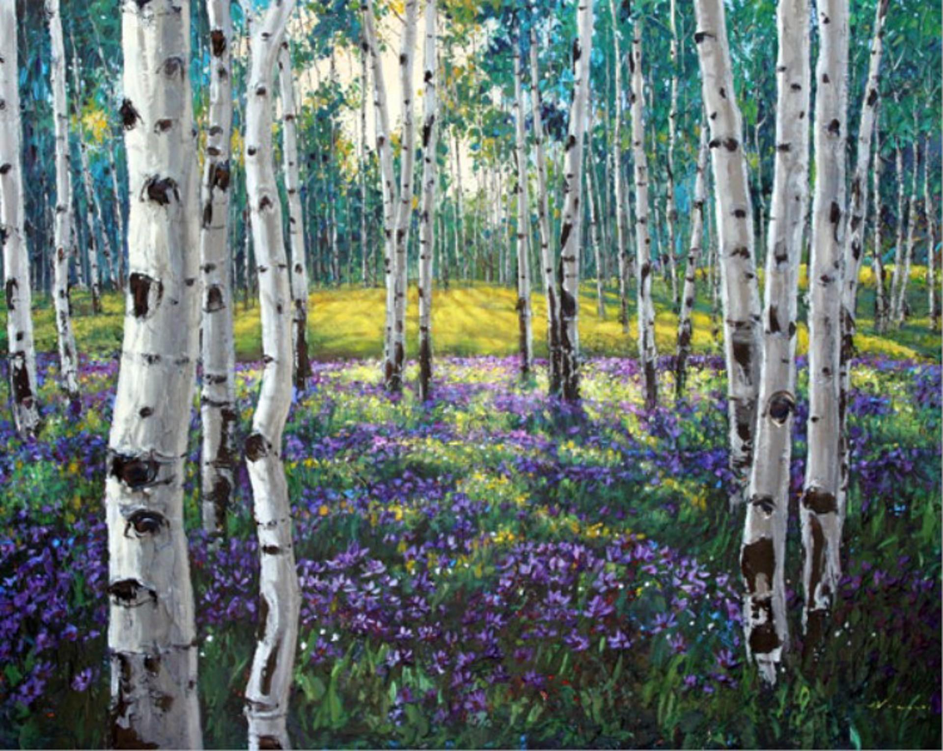 Meadow of Amethyst by Jennifer Vranes