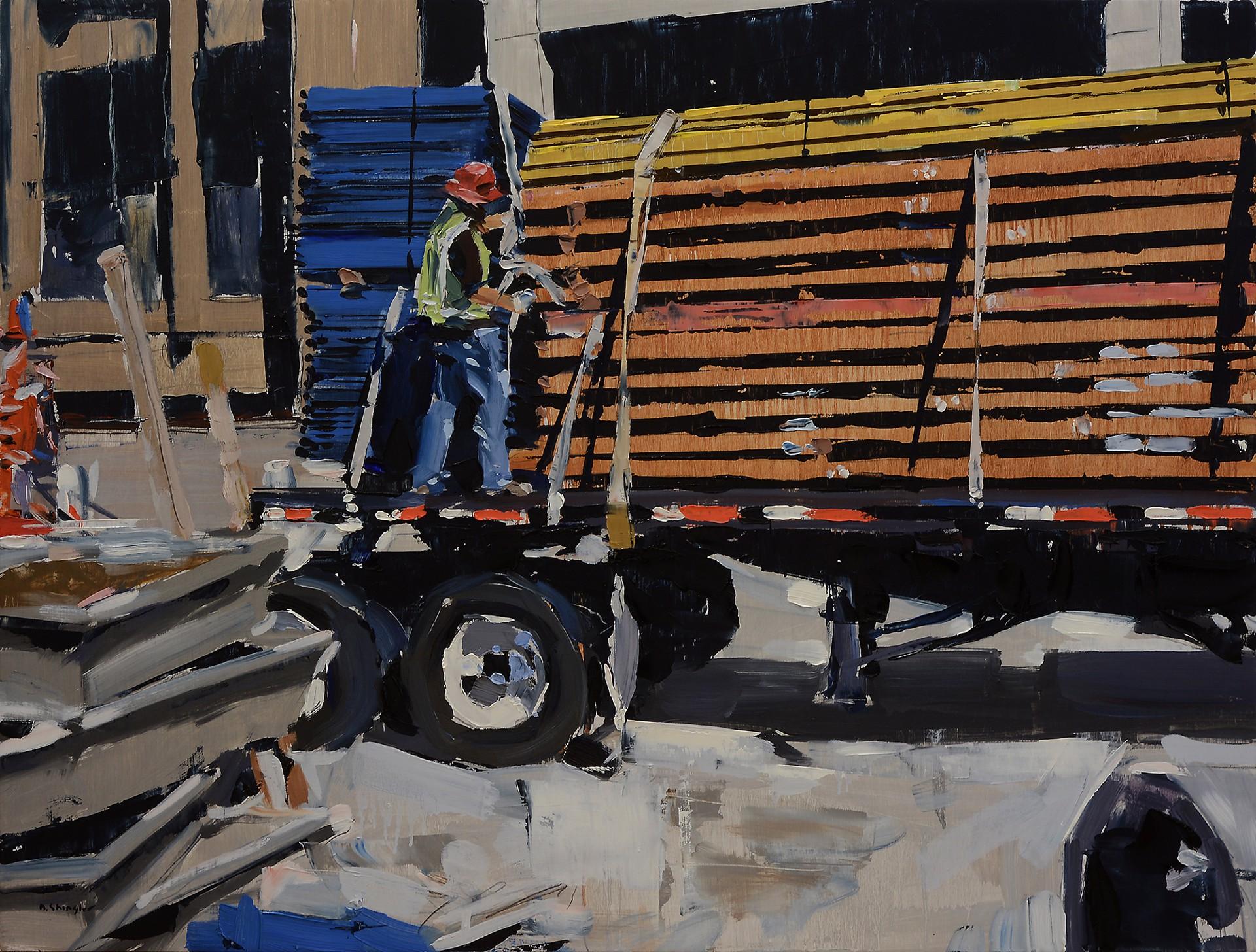 Man on Truck by David Shingler