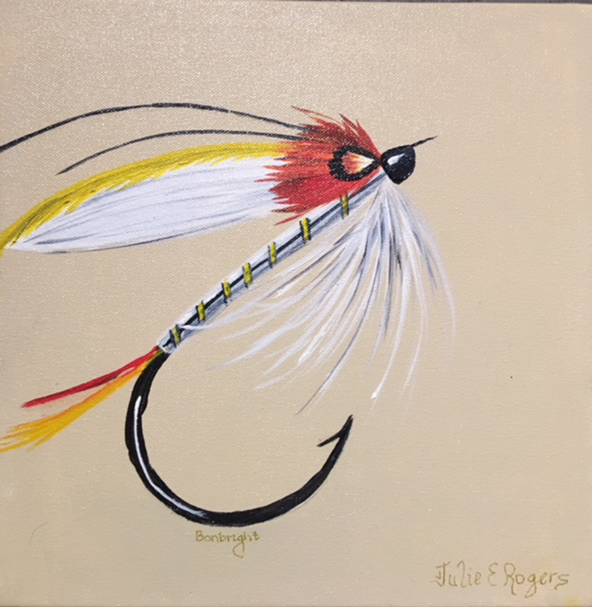 Bon Bright Wet fly by Julie Rogers