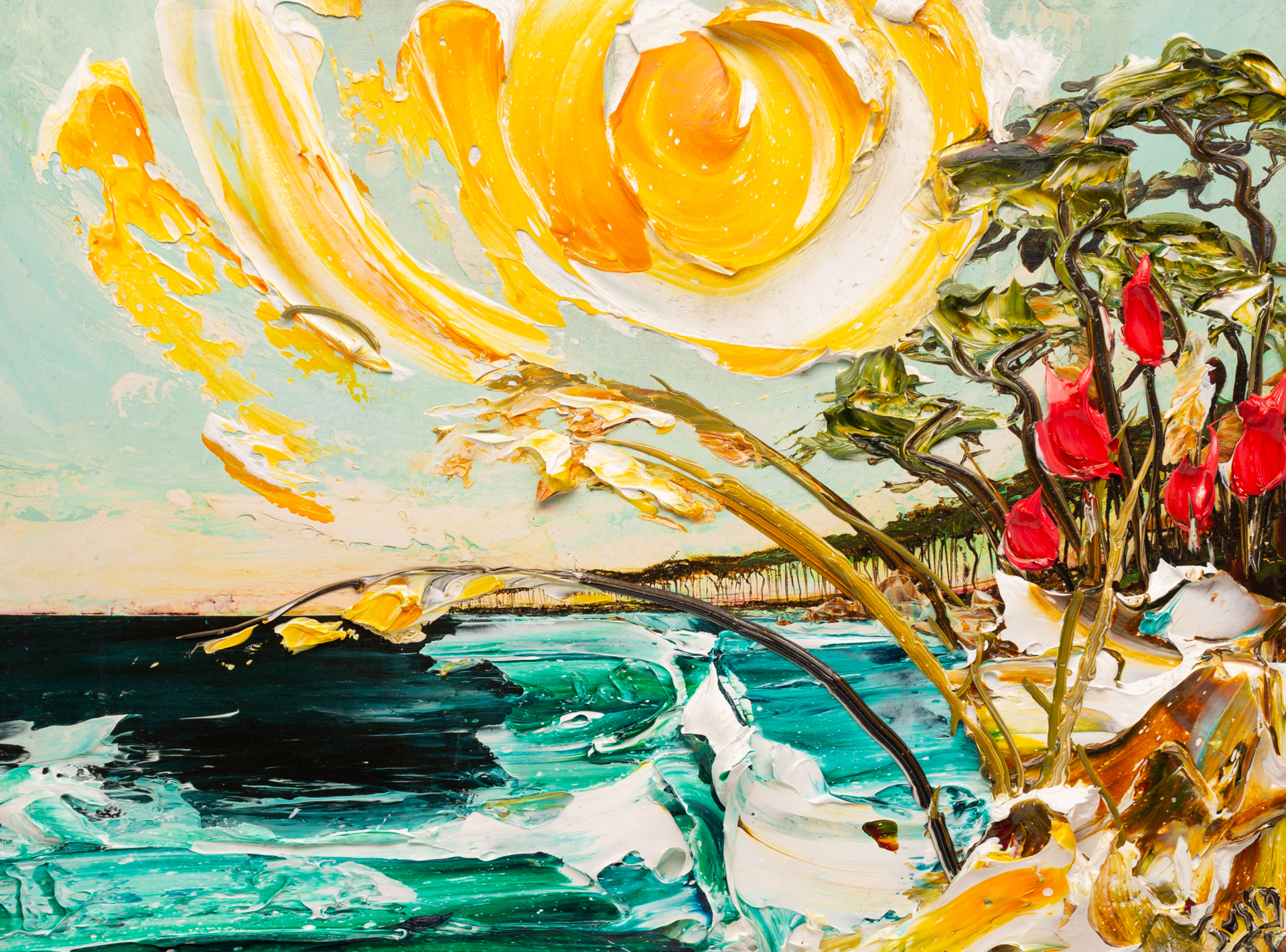 SEASCAPE SS-HPAE-35-50-32X24-2019-64 by JUSTIN GAFFREY EDITIONS