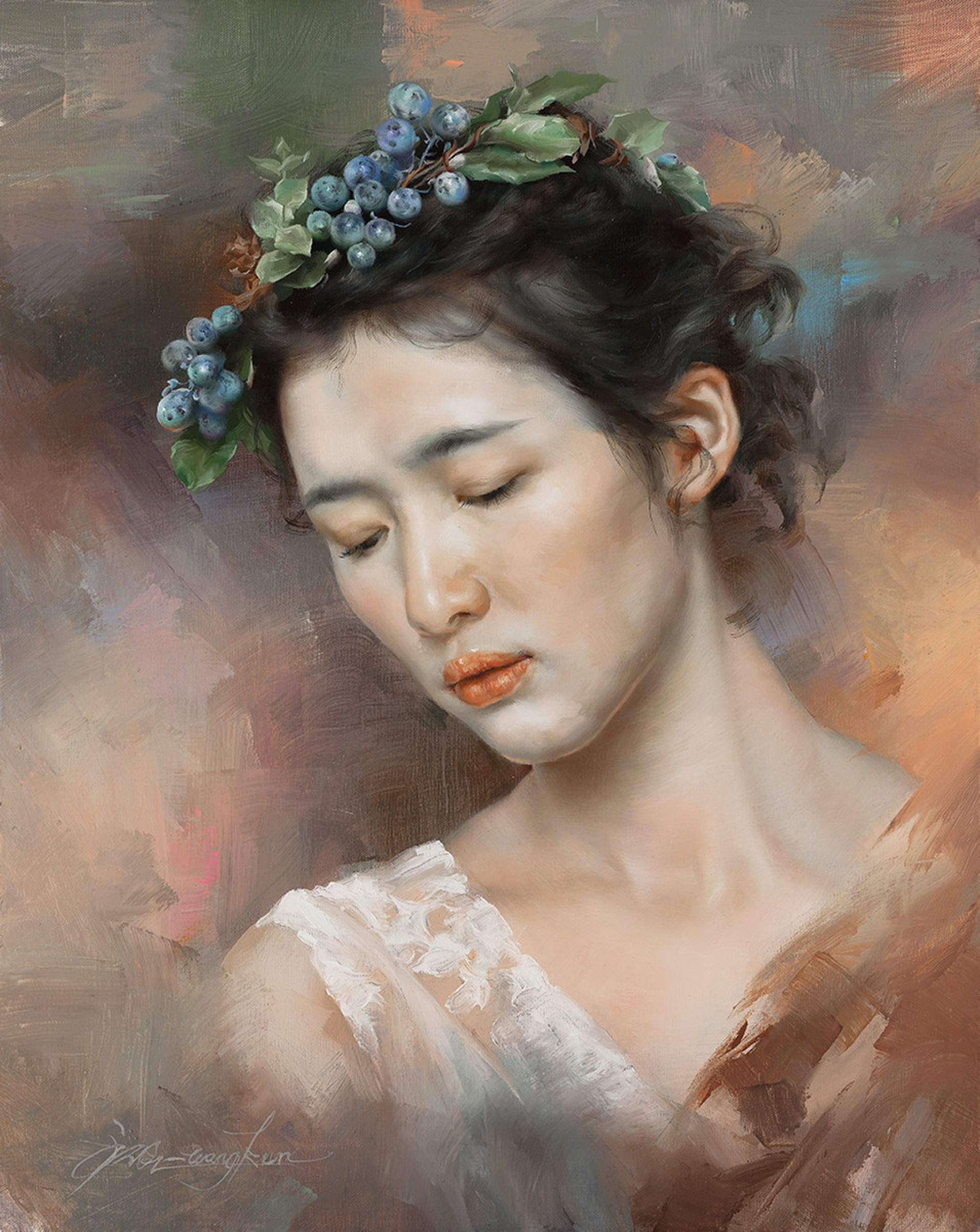 Yearning by Wang Kun