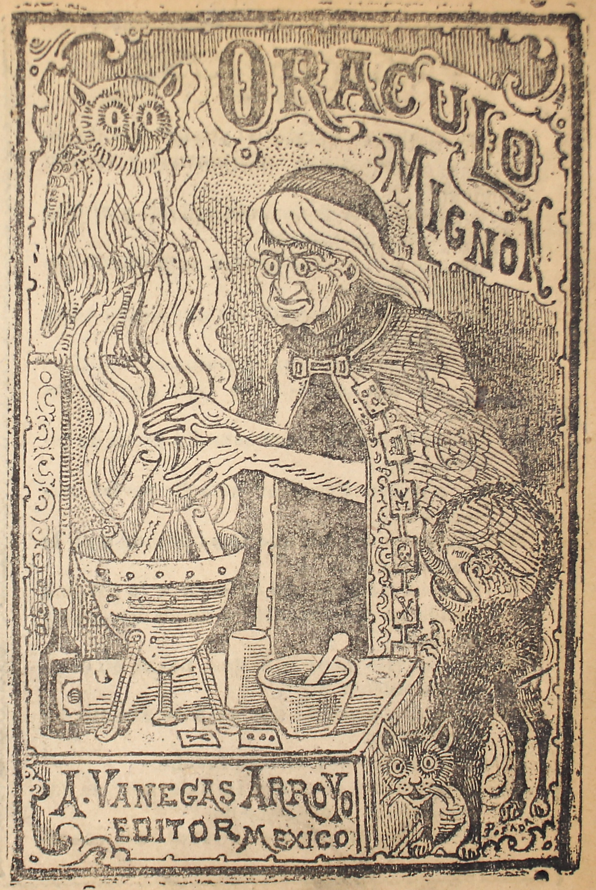 Oraculo Mignon by José Guadalupe Posada (1852 - 1913)