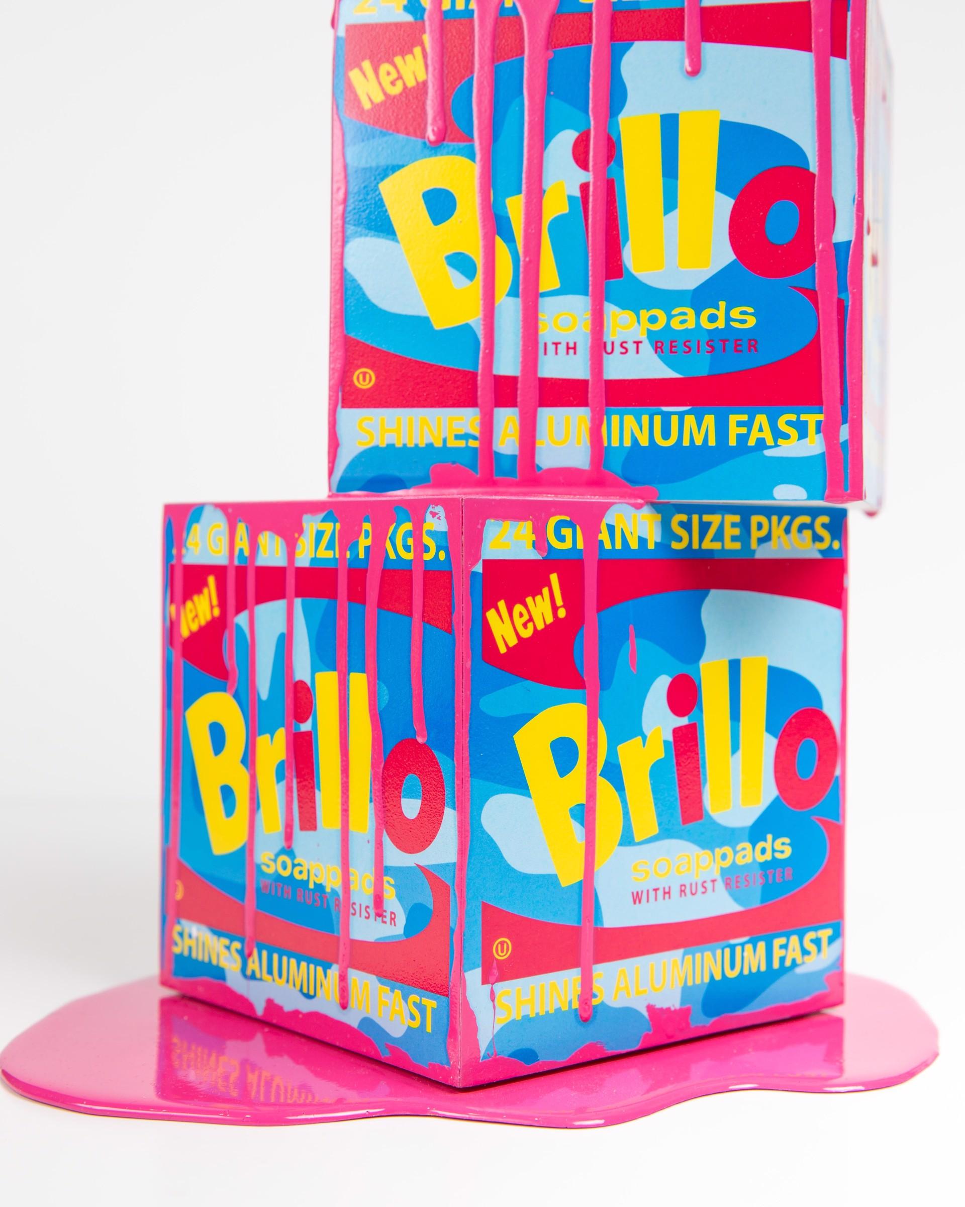 Happy Accident Series - Brillo Box by Joe Suzuki