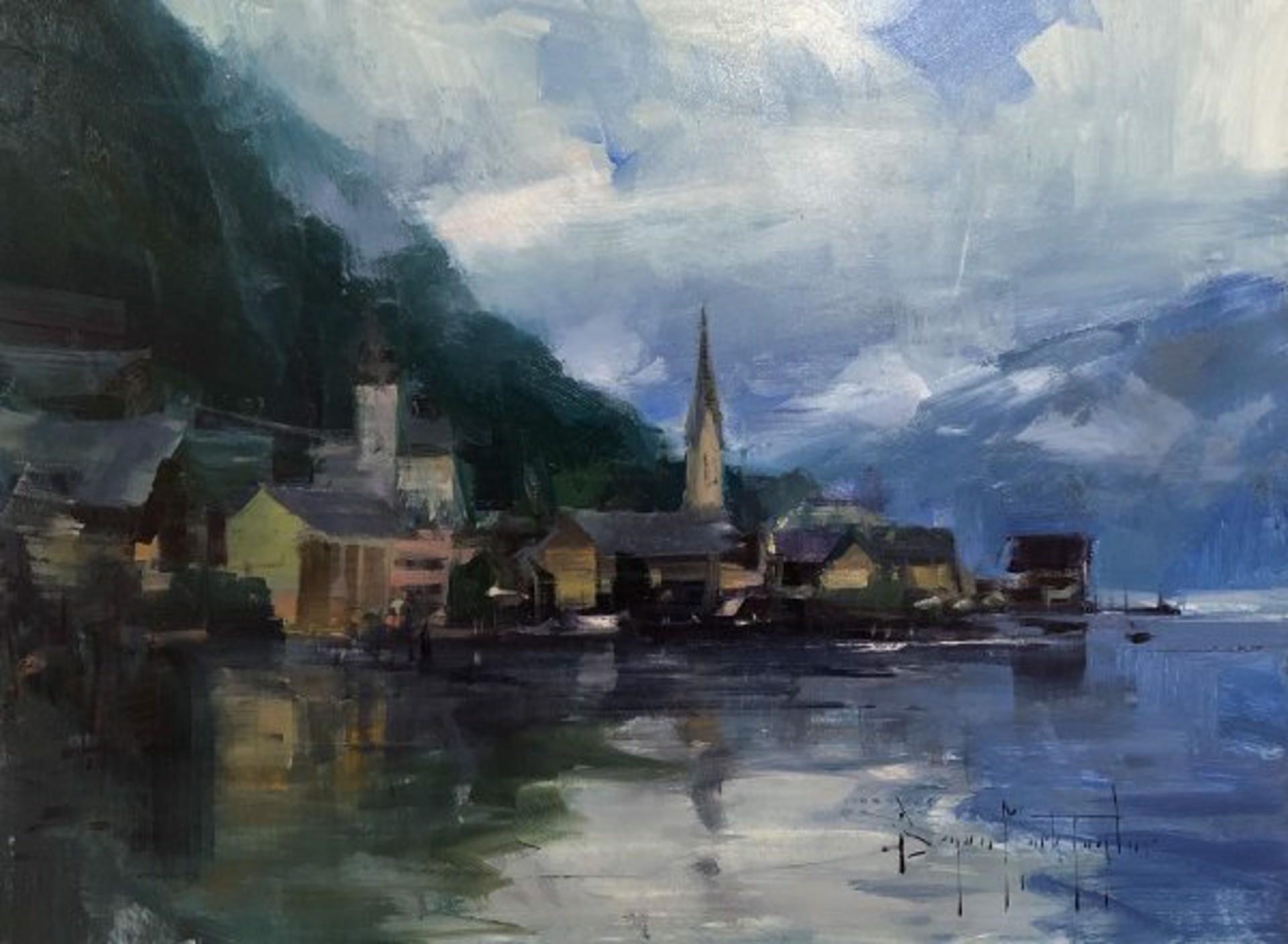 Halstatt Clouds by Bryan Mark Taylor