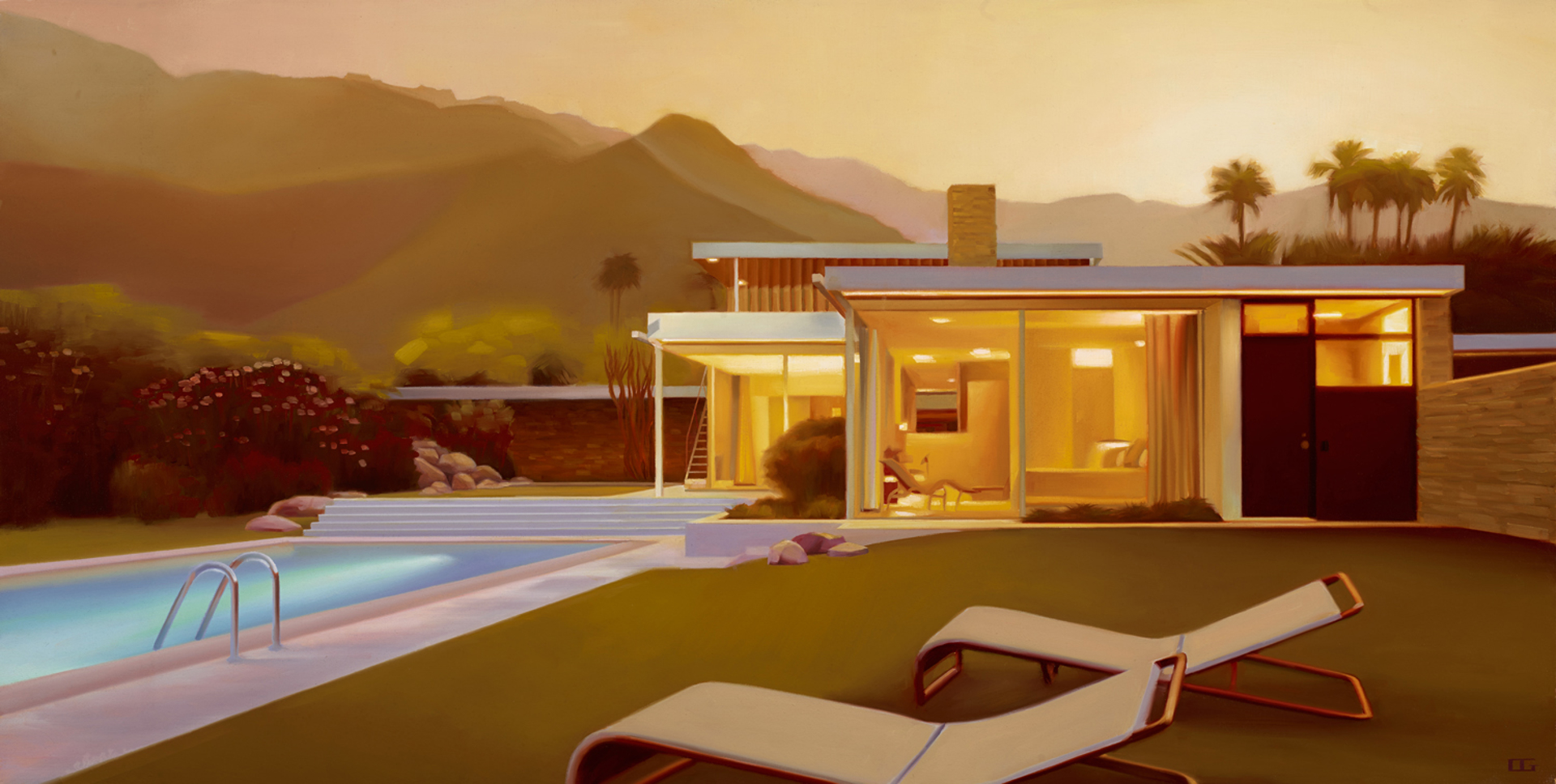 Kaufmann House (S/N) by Carrie Graber