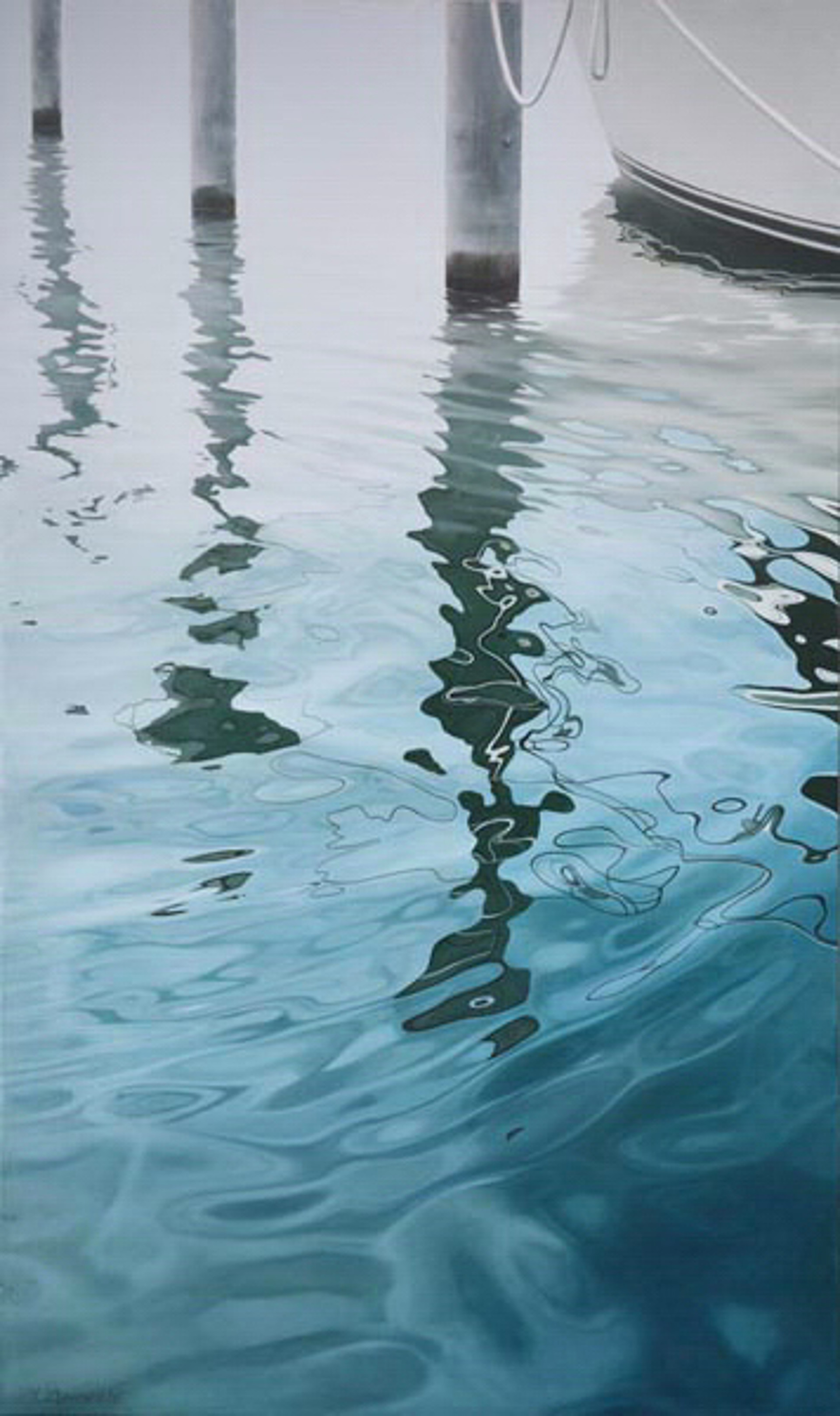 Harbor Reflection by Tatyana Klevenskiy