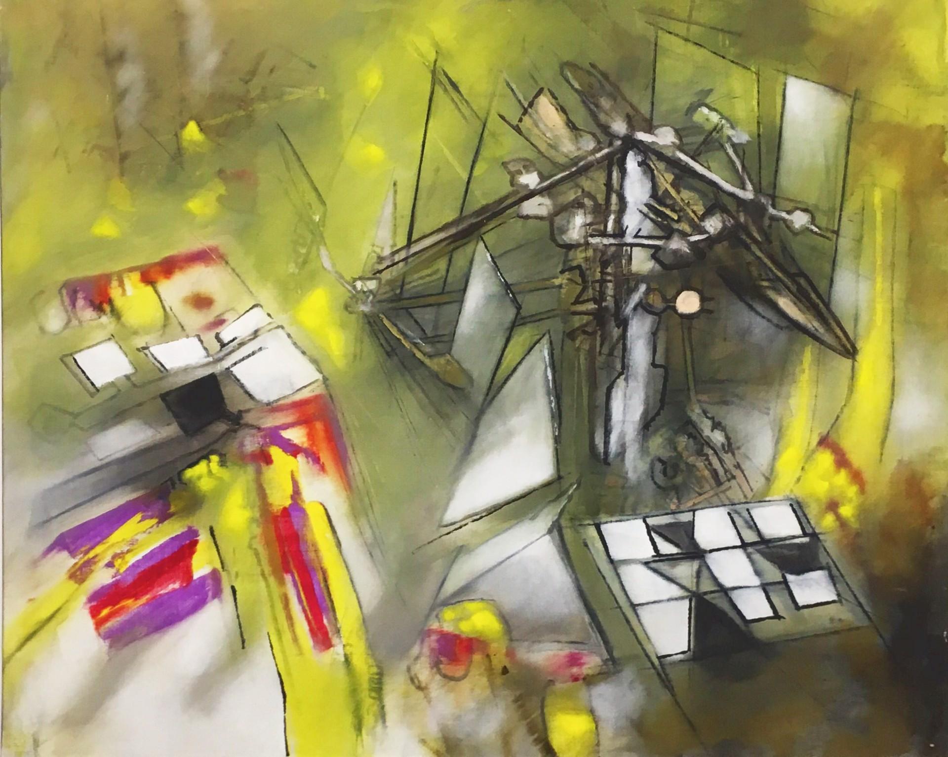 Jazz II by Roberto Matta (1911 - 2002)