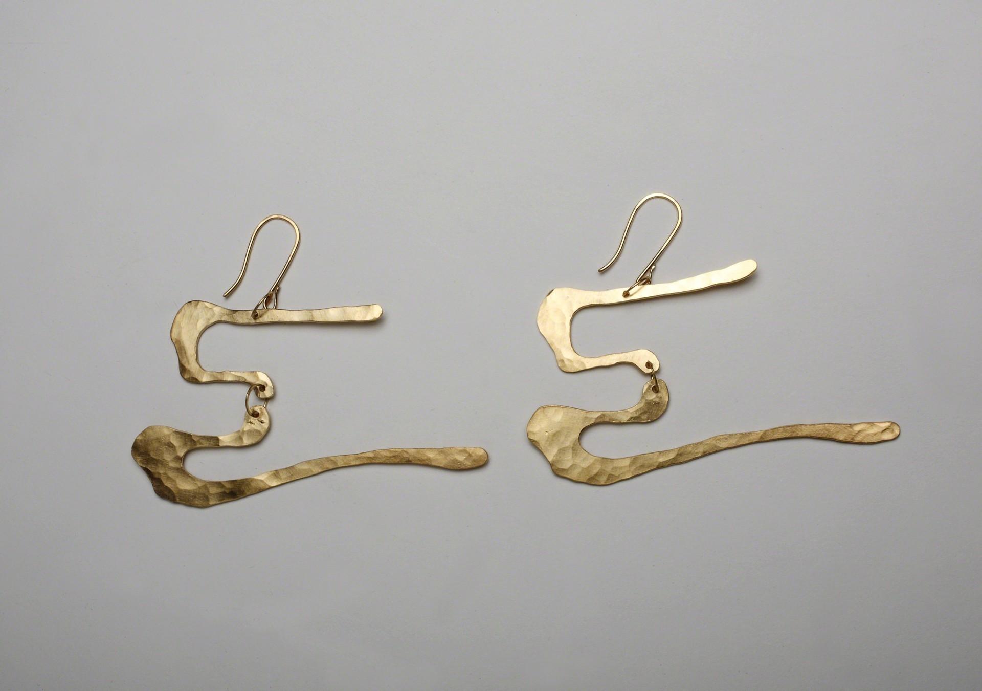 """Mobile"" Earrings  by Jacques Jarrige"