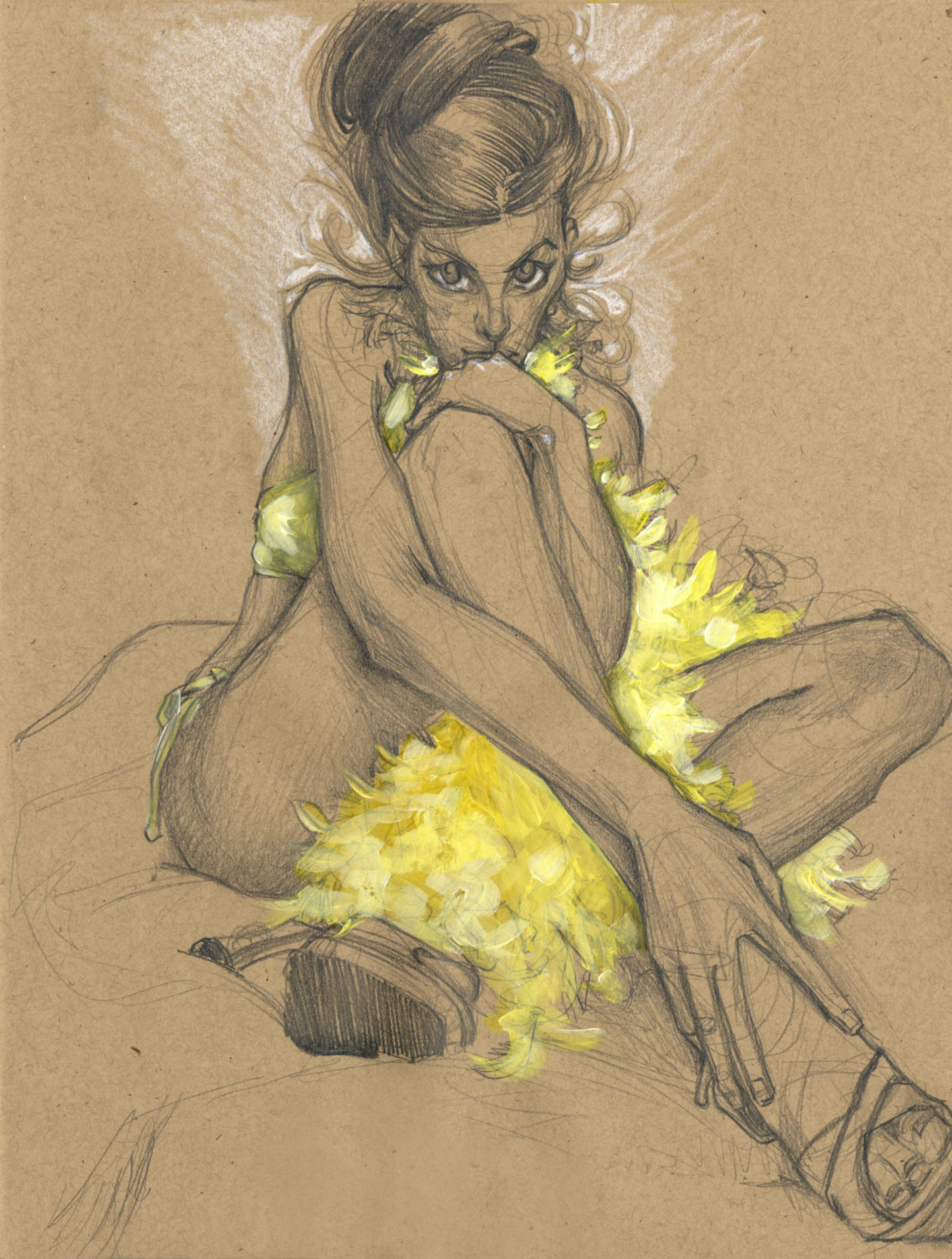 Canary 1 by Kelly Houghton