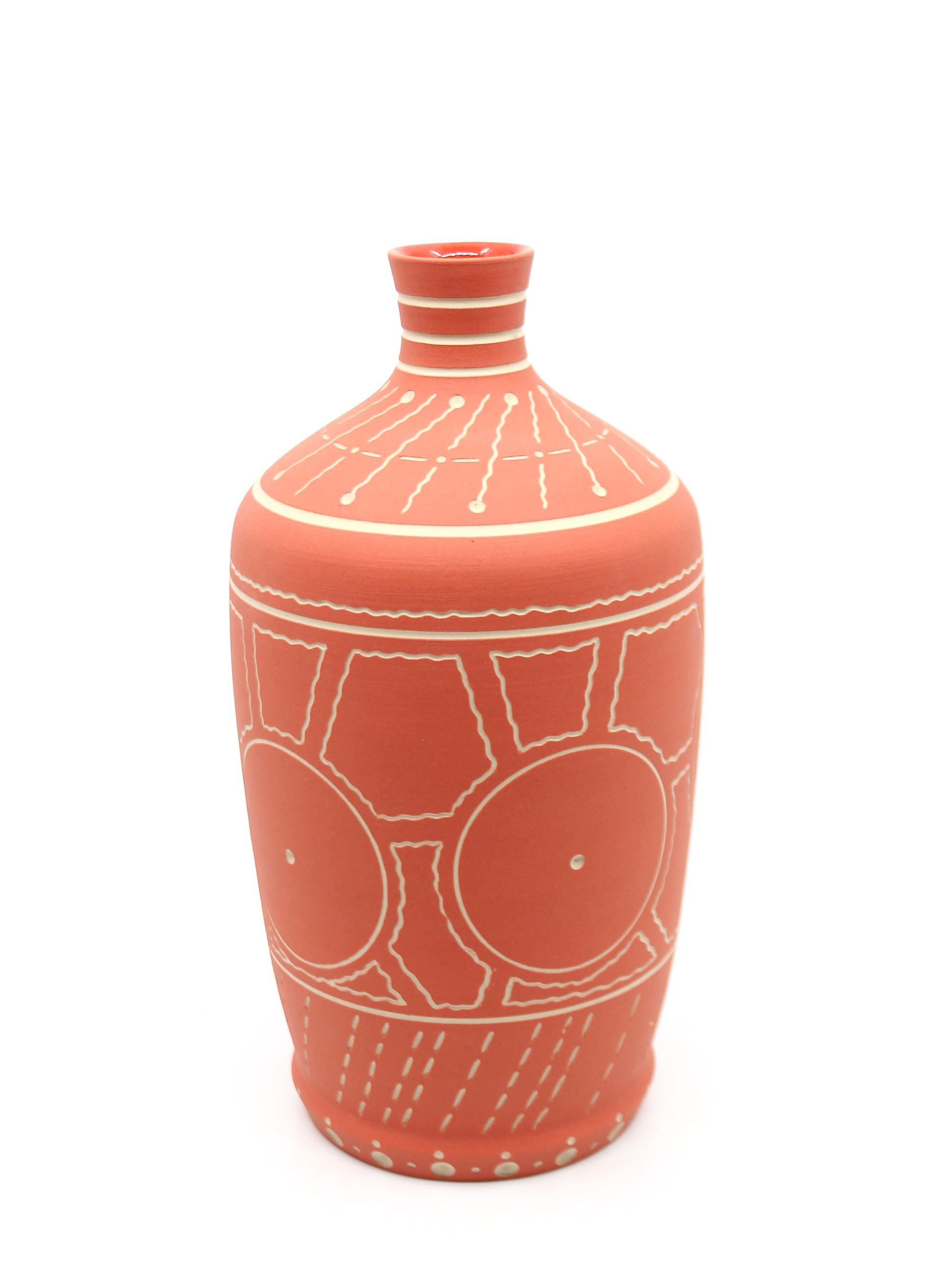 Vase (Small/Peach) by Chris Casey