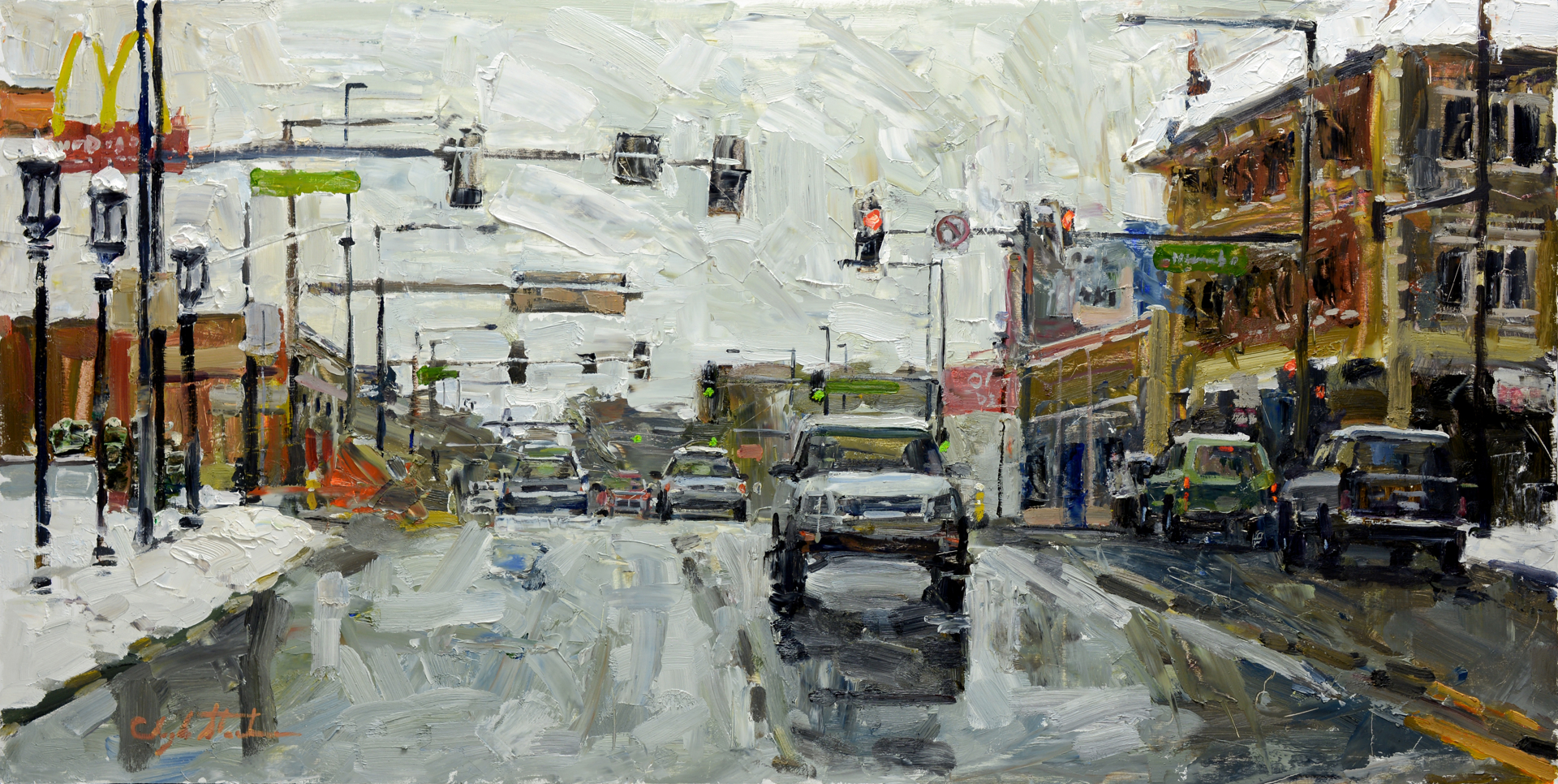Cold Street by Clyde Steadman