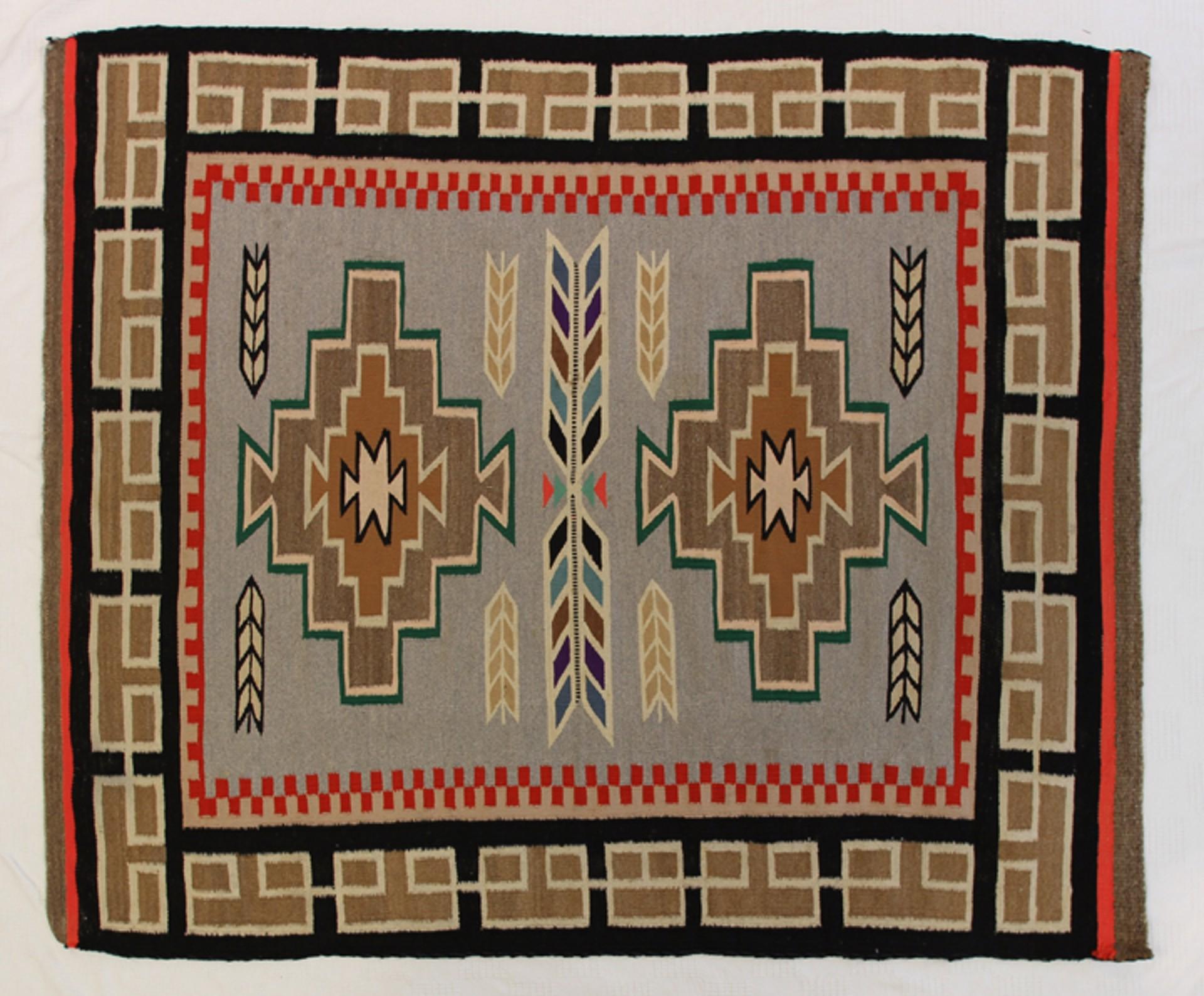 Navajo Rug #4 by Navajo Weavings