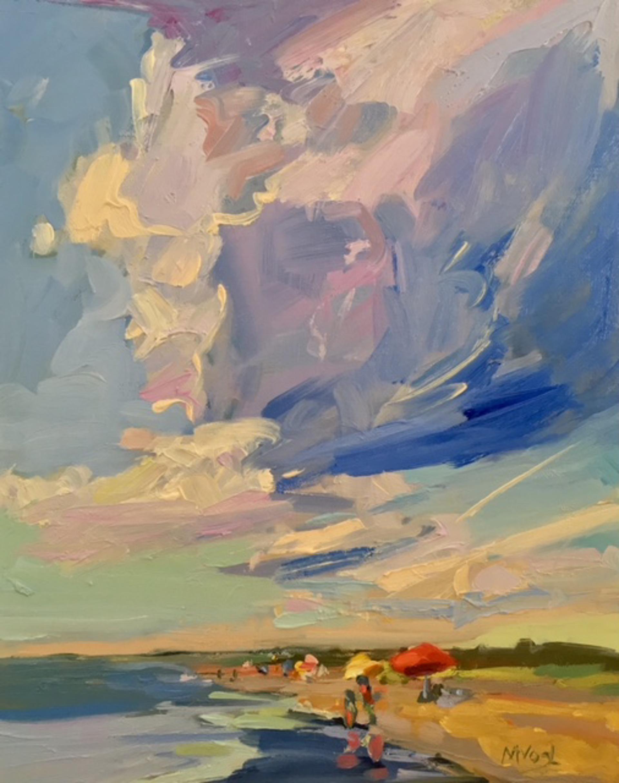 Summer Umbrellas by Marissa Vogl