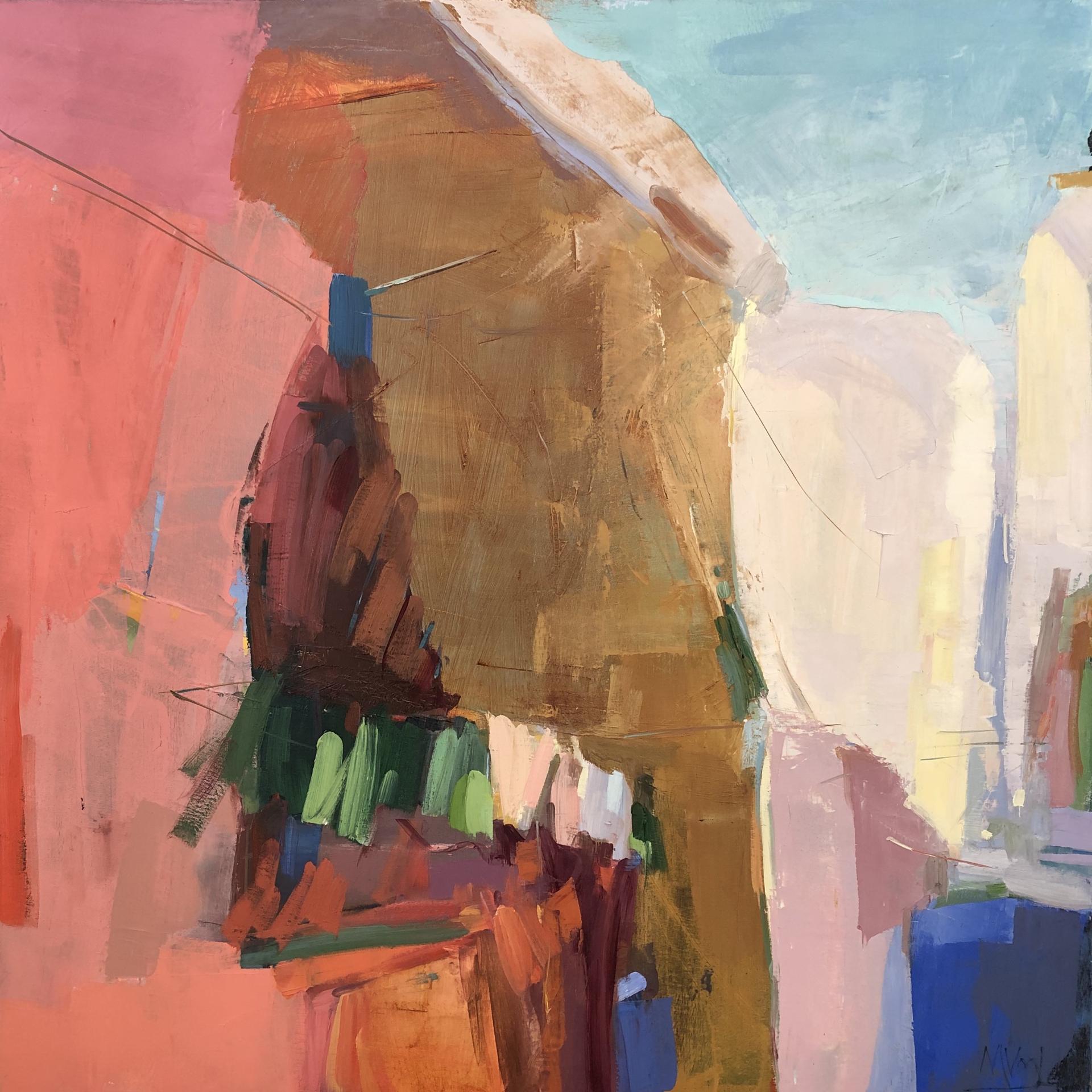 Laundry Day in Ischia by Marissa Vogl