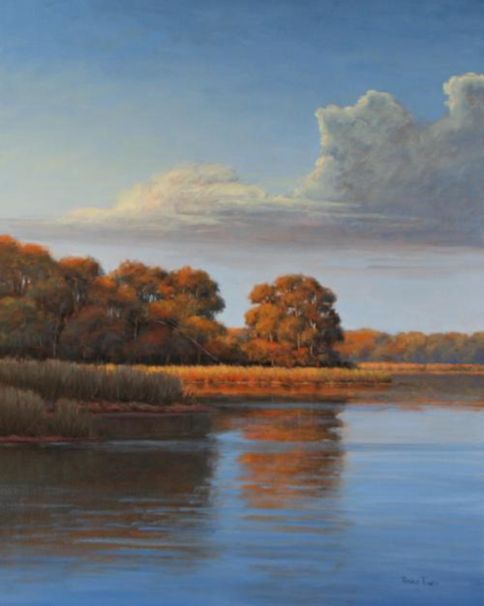 Peaceful Moments by Ronald Tinney