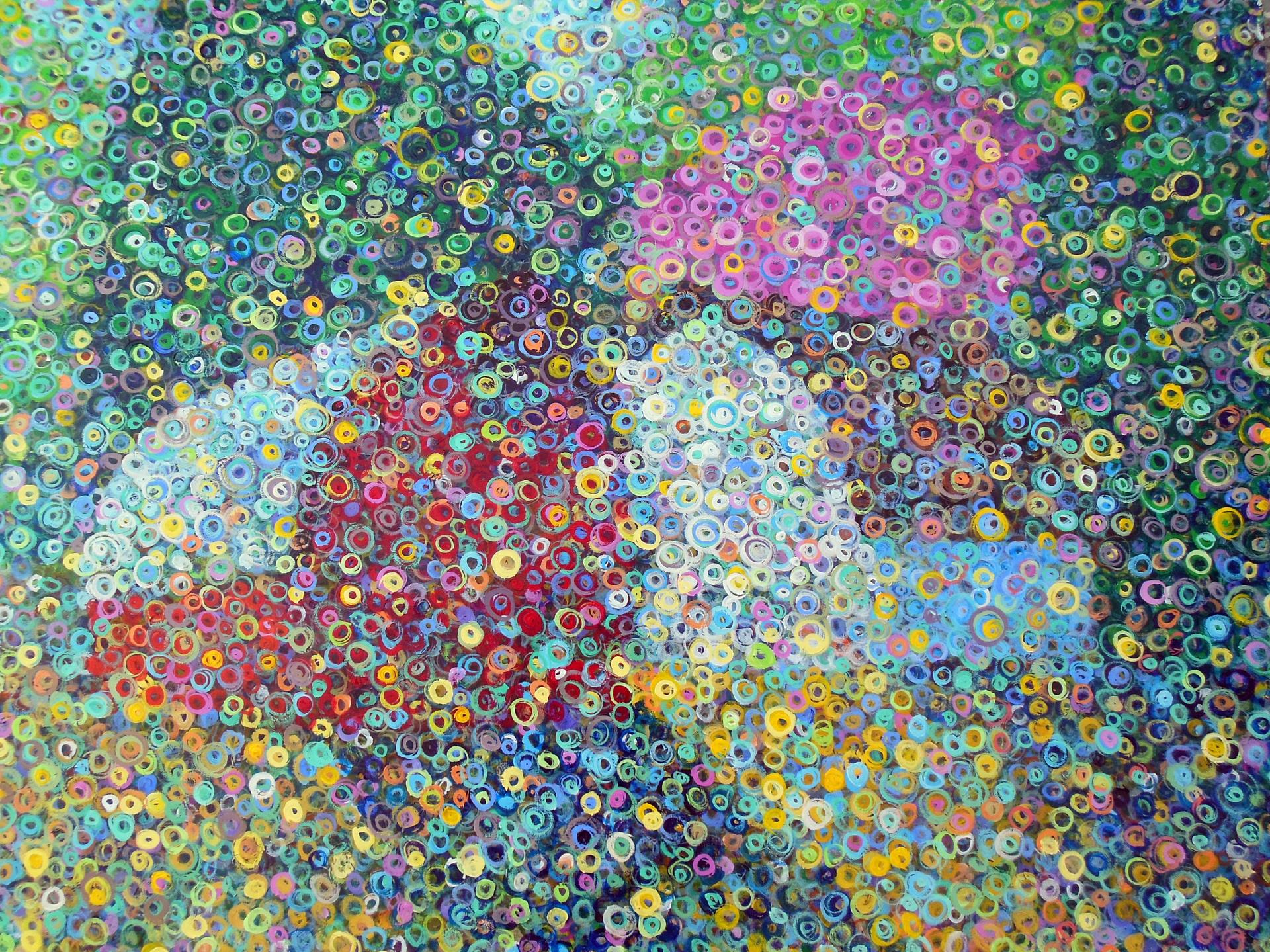 Blooming Behind the Barns by Marcio Diaz