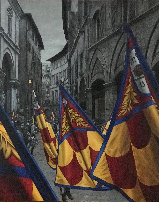 Palio De Siena by Larissa Morais