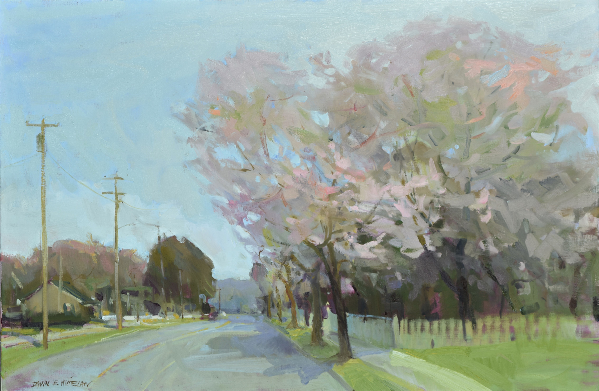 Spring's Soft Song by Dawn Whitelaw
