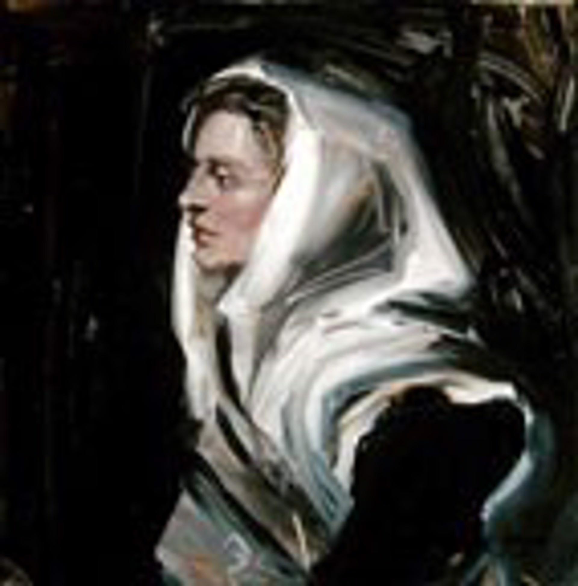 The White Shawl by Frank Mason (1921 - 2009)