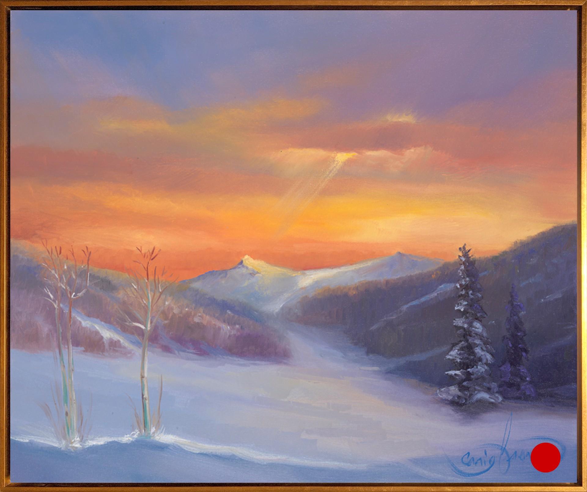 Sunset at Keystone by Craig Freeman