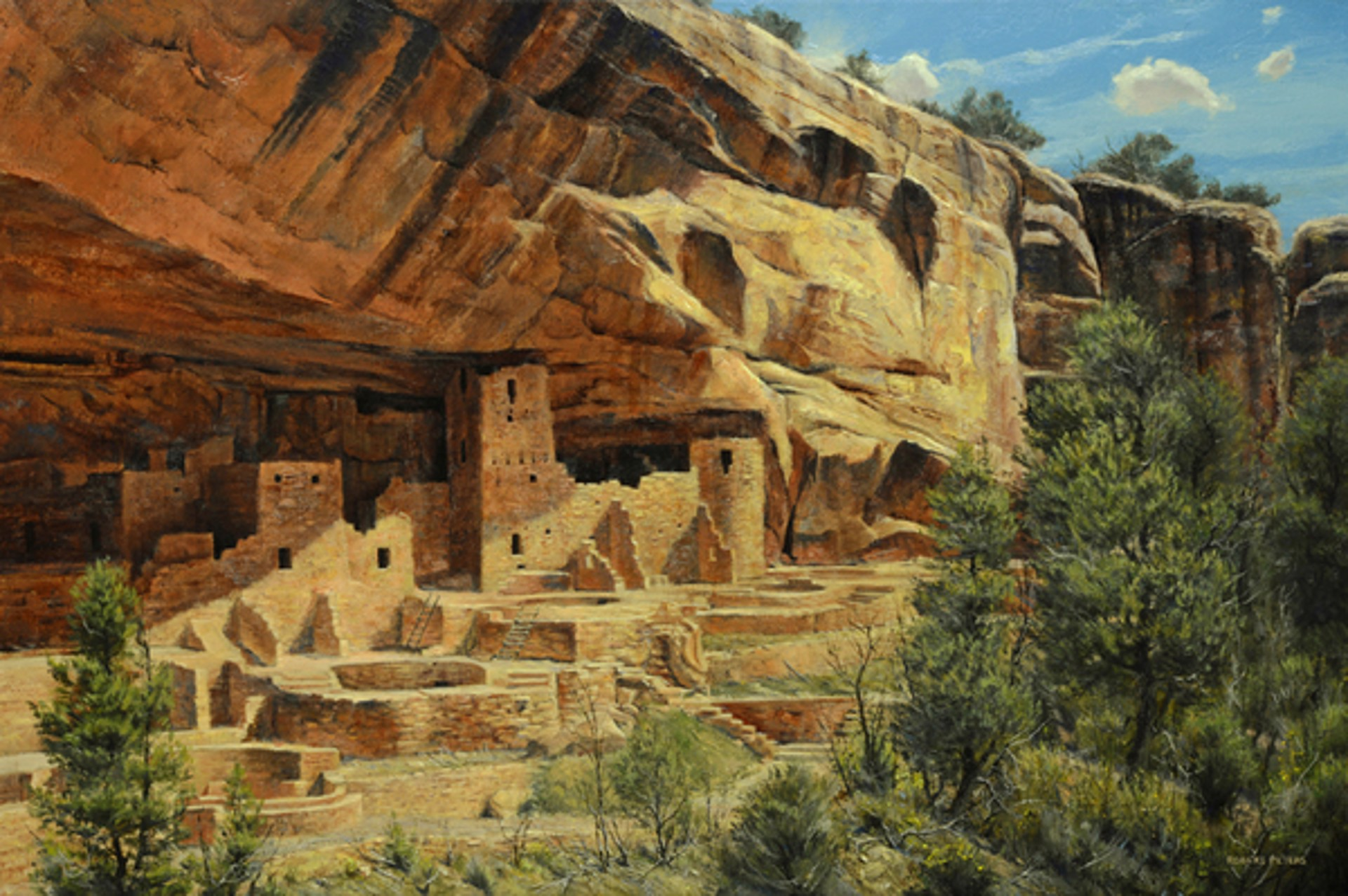 Cliff Palace, Mesa Verde by Robert Peters