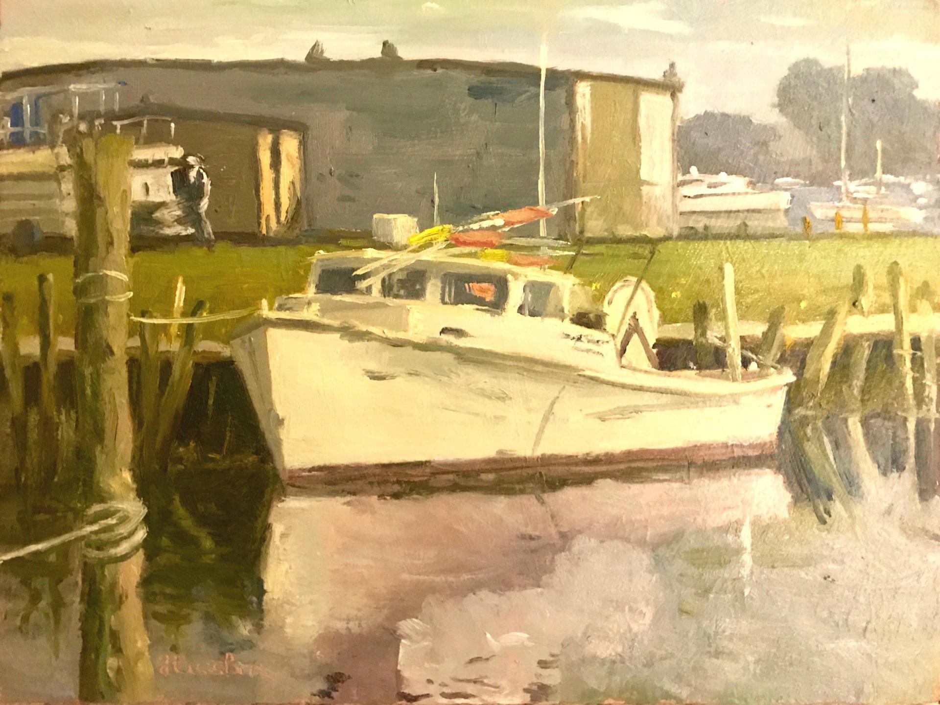 Crabber, Town Creek Marina by Steve Hessler