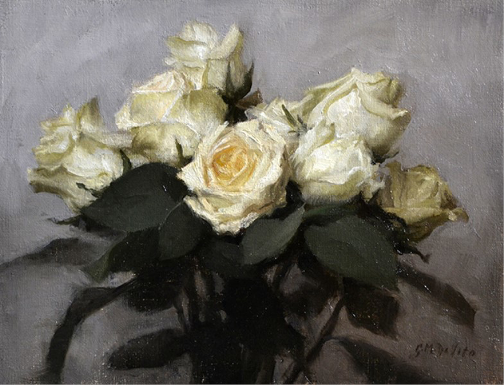 White Roses by Grace DeVito