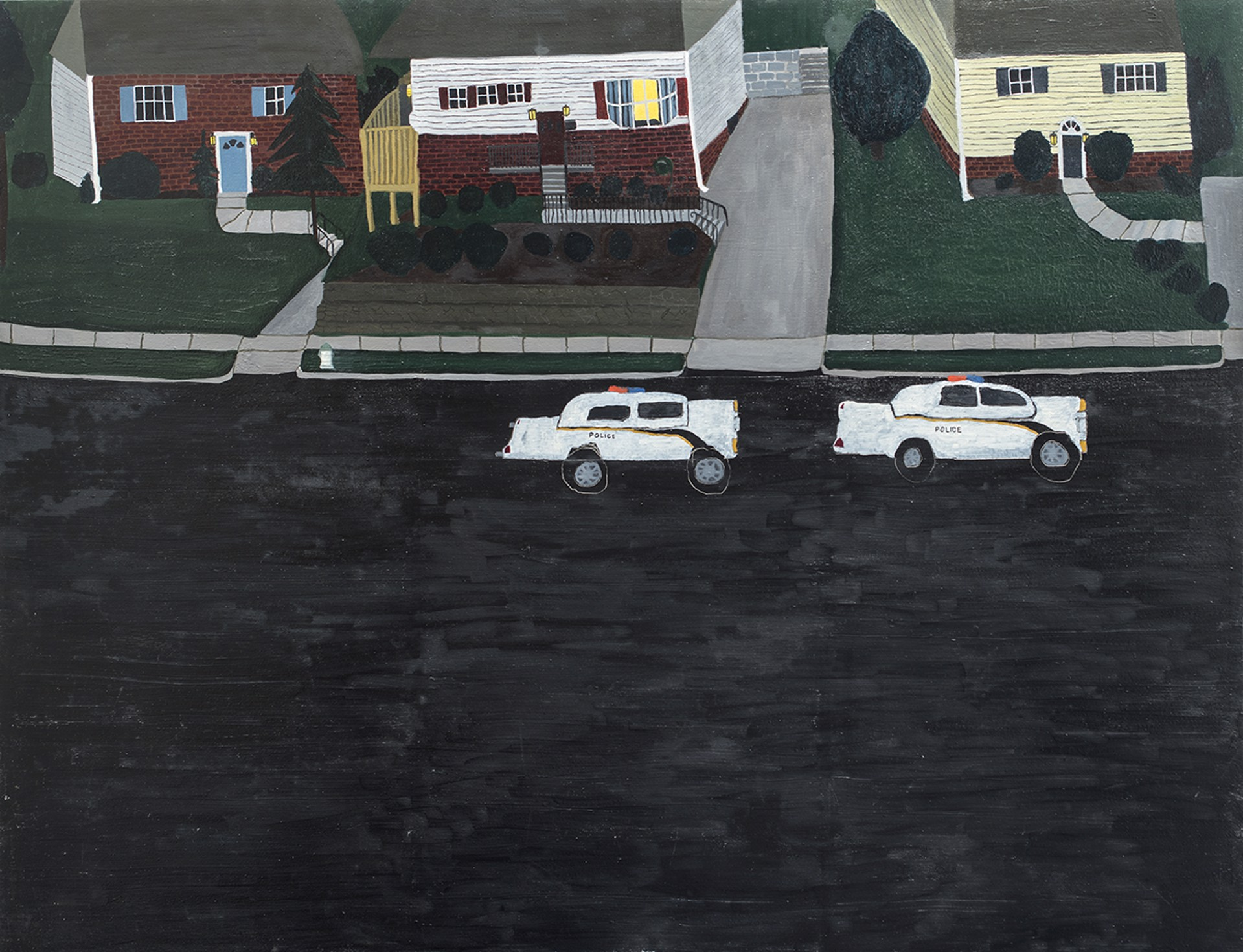 Aaron Maier-Carretero - branch drive by Visiting Artist