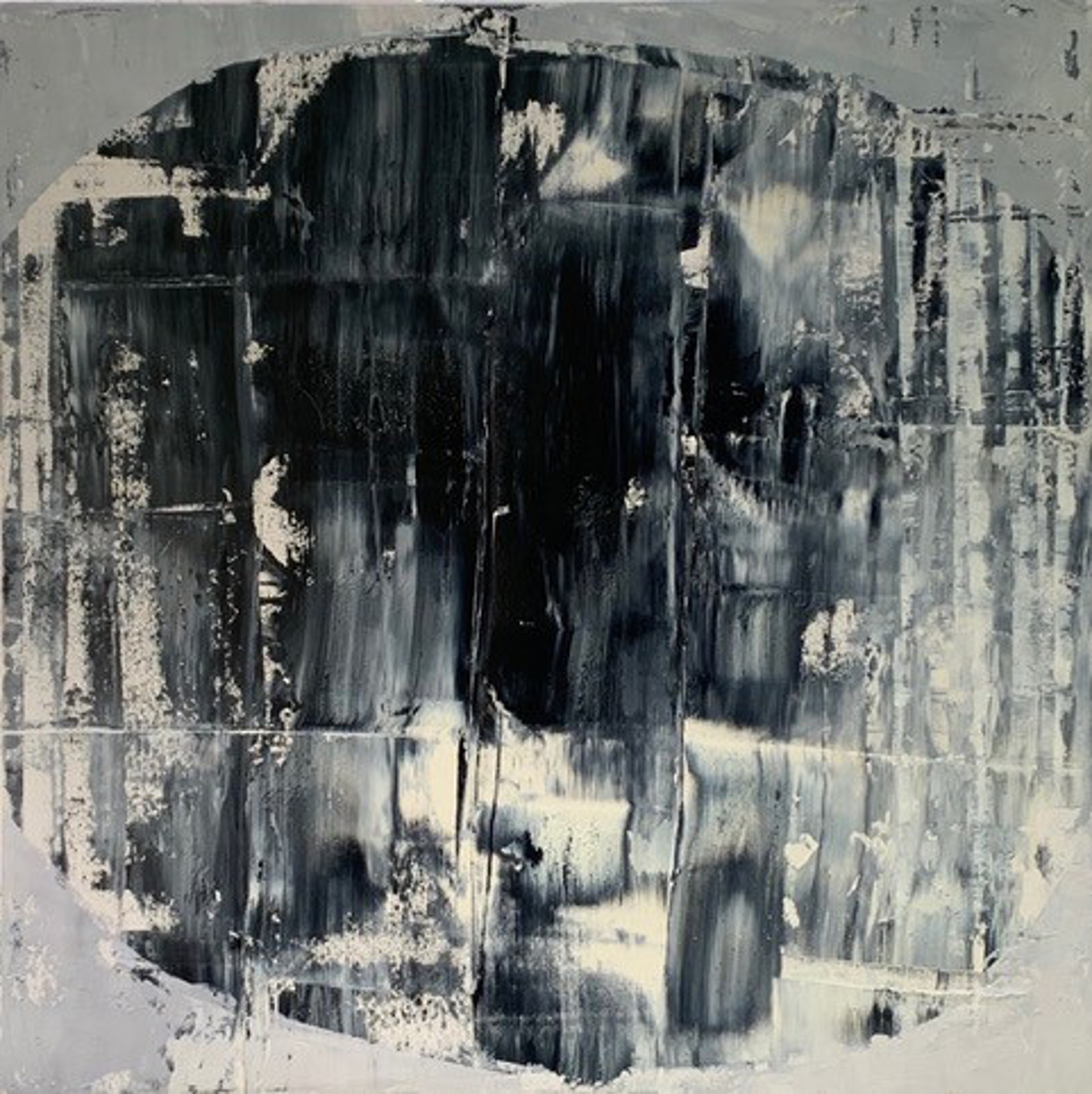 Grey on Grey 3 by William Song