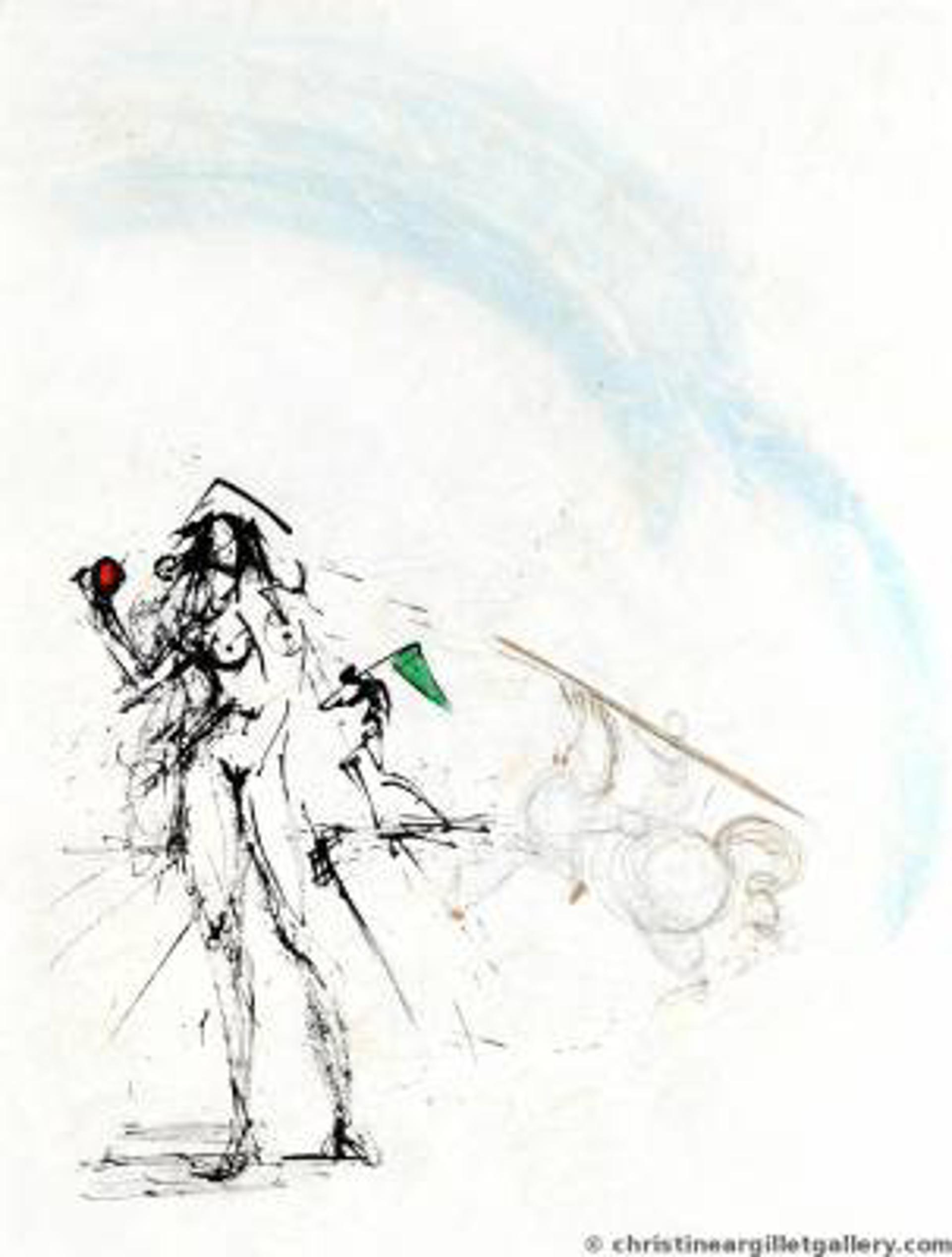 """Ronsard """"The Angler"""" by Salvador Dali"""