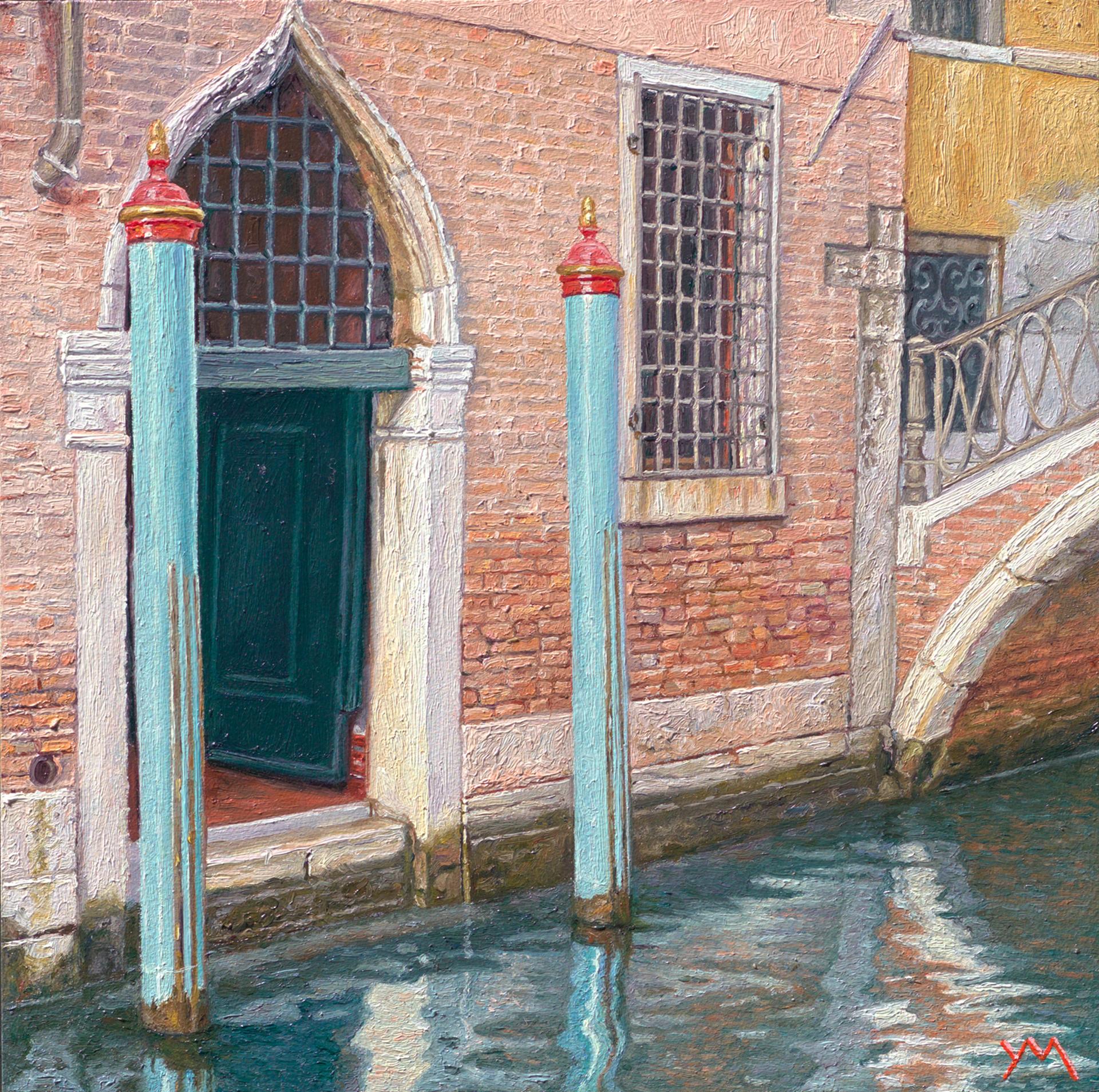 Reflections V (Autumn in Venice) by Yvonne Melchers