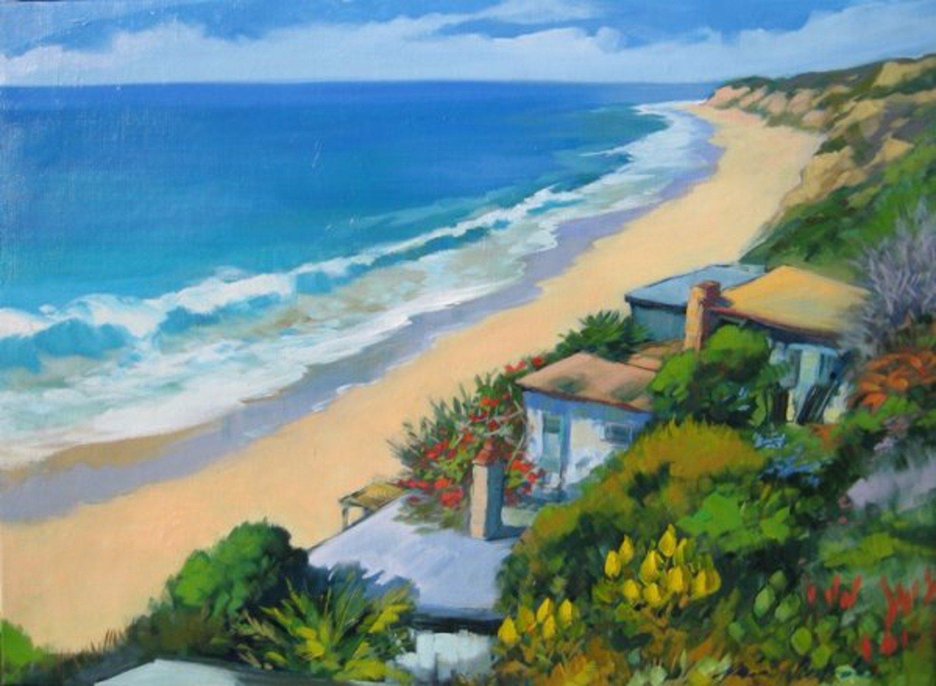 Calm Day At Crystal Cove (Maria Bertran) by Maria Bertrán