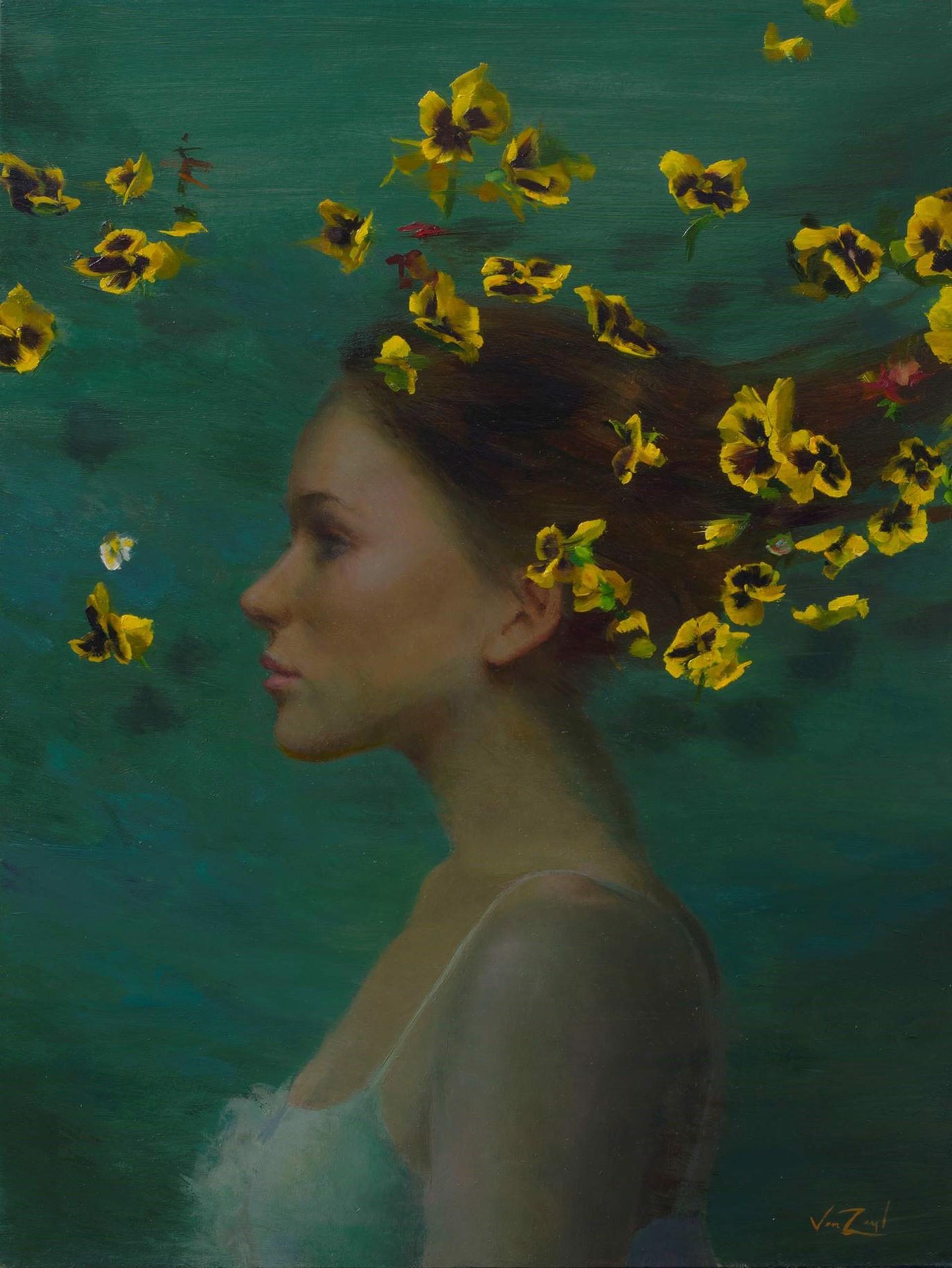 Yellow Breeze by Michael Van Zeyl