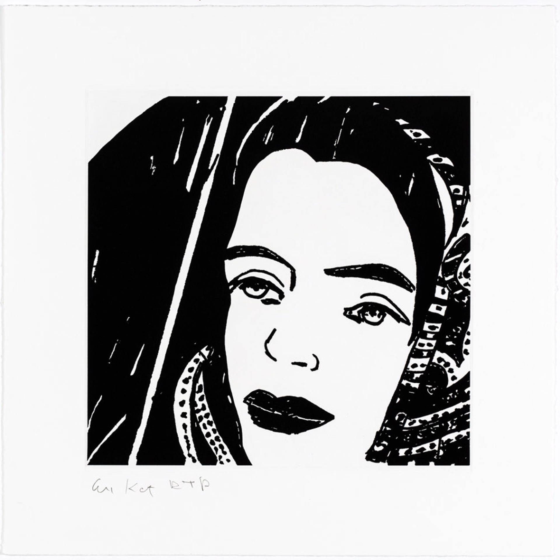 ADA #4 by Alex Katz