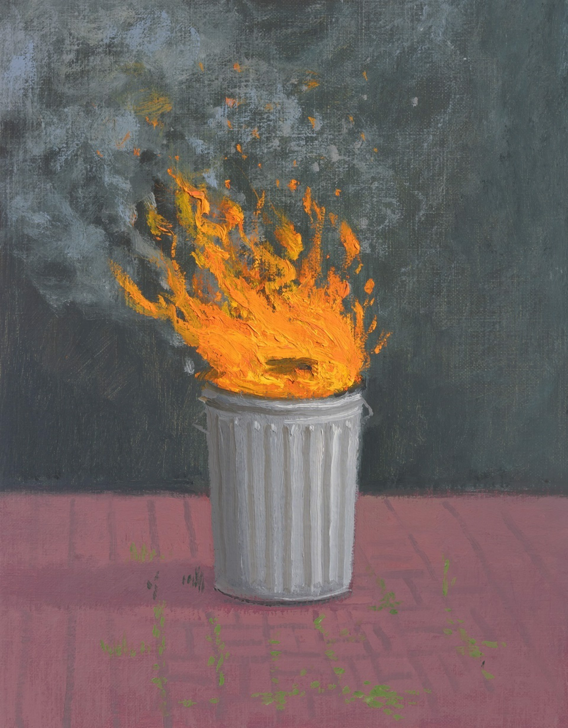 Trashfire IV by Vonn Cummings Sumner