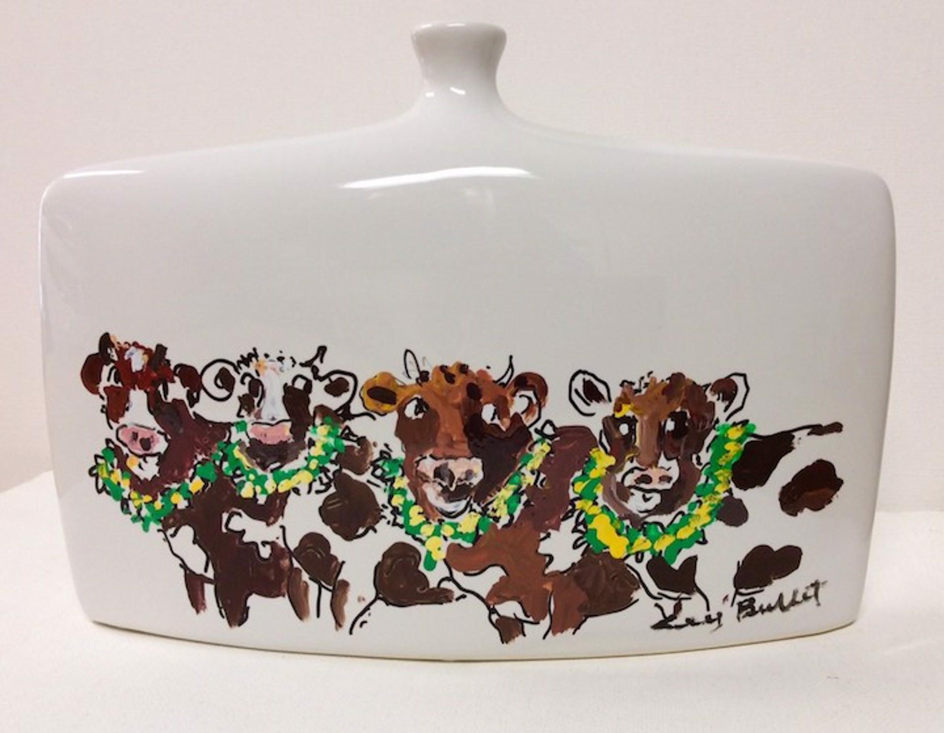 Vase (Amooha!) (Ceramic)  by Guy Buffet