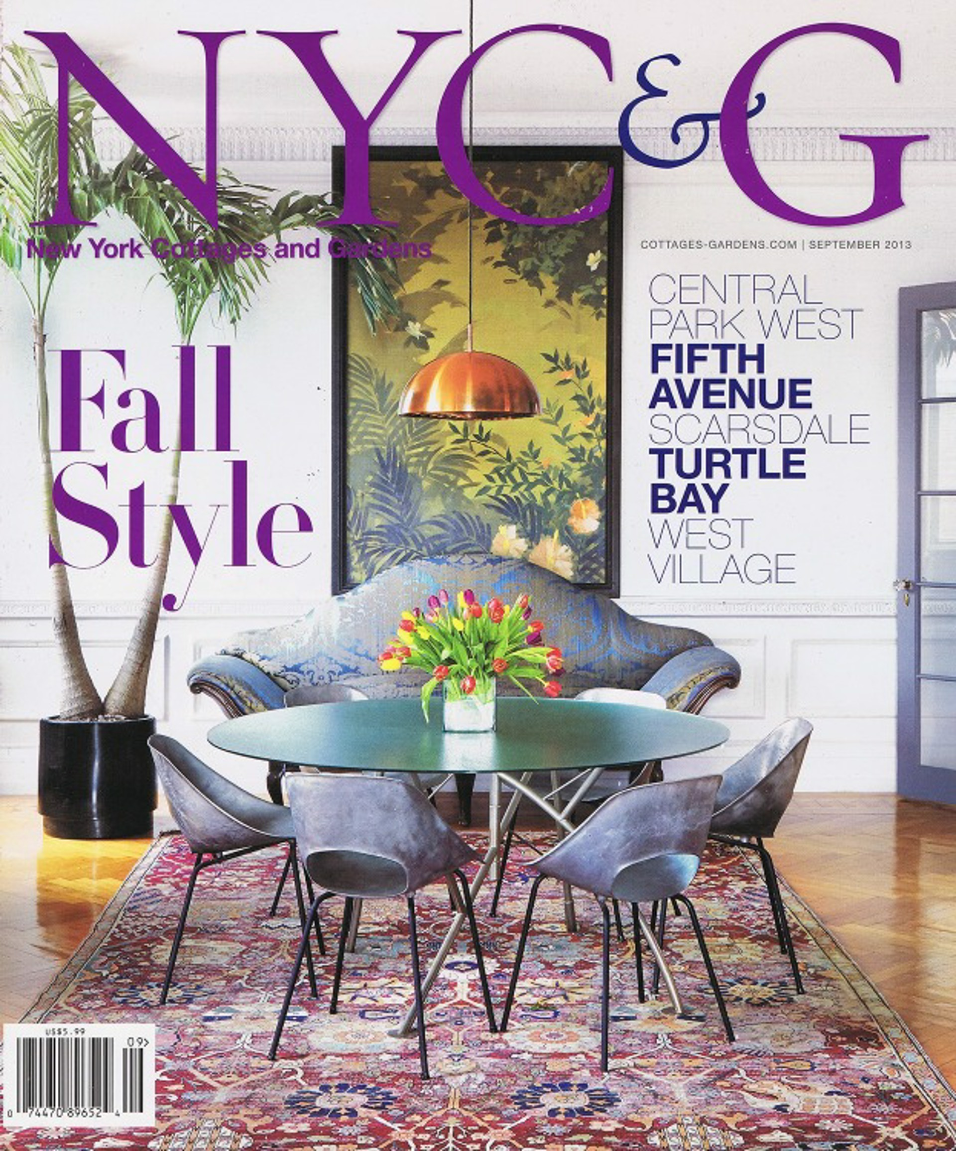 NYC&G, September 2013 - Jacques Jarrige