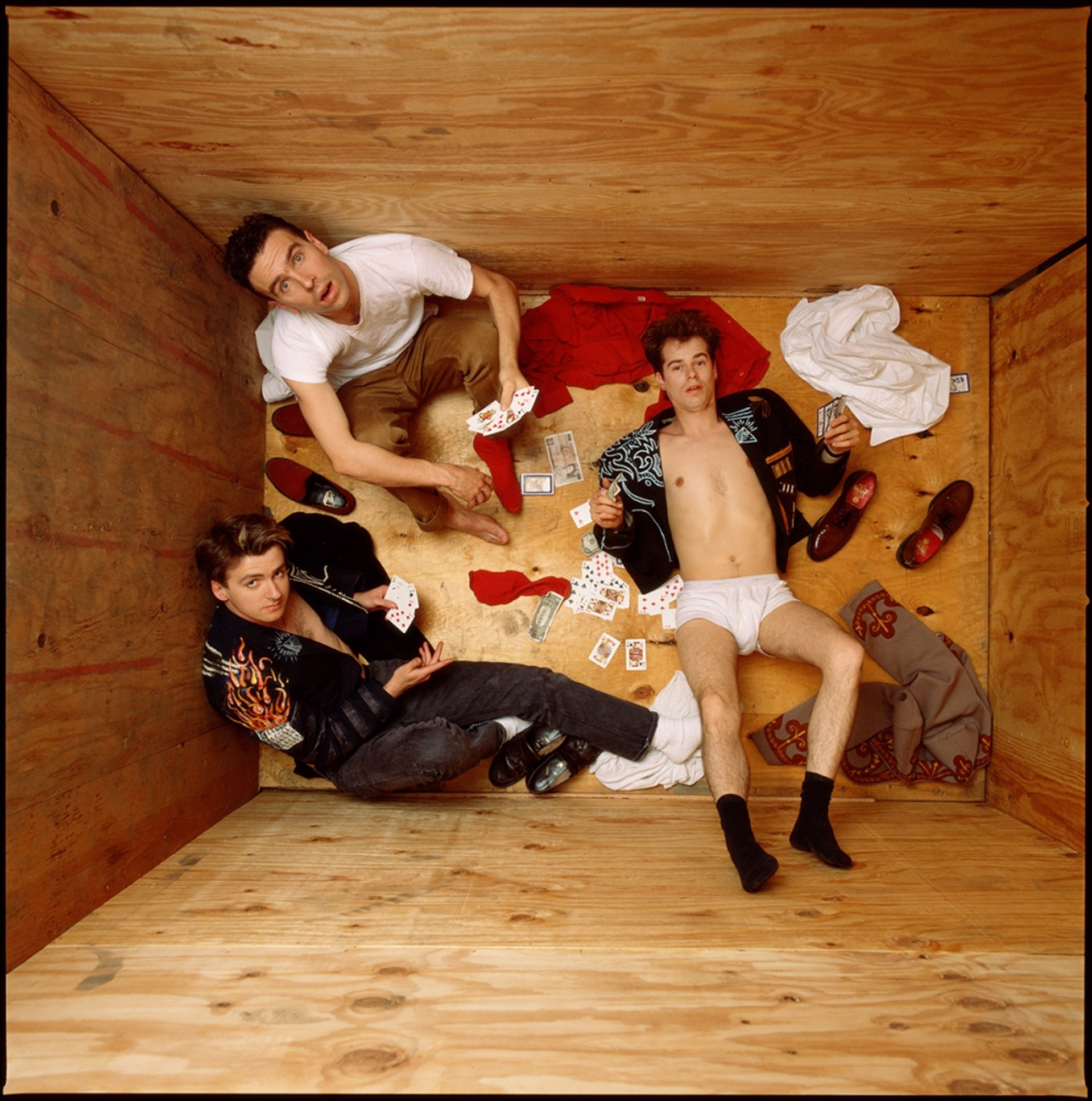 86083 Crowded House Color by Timothy White
