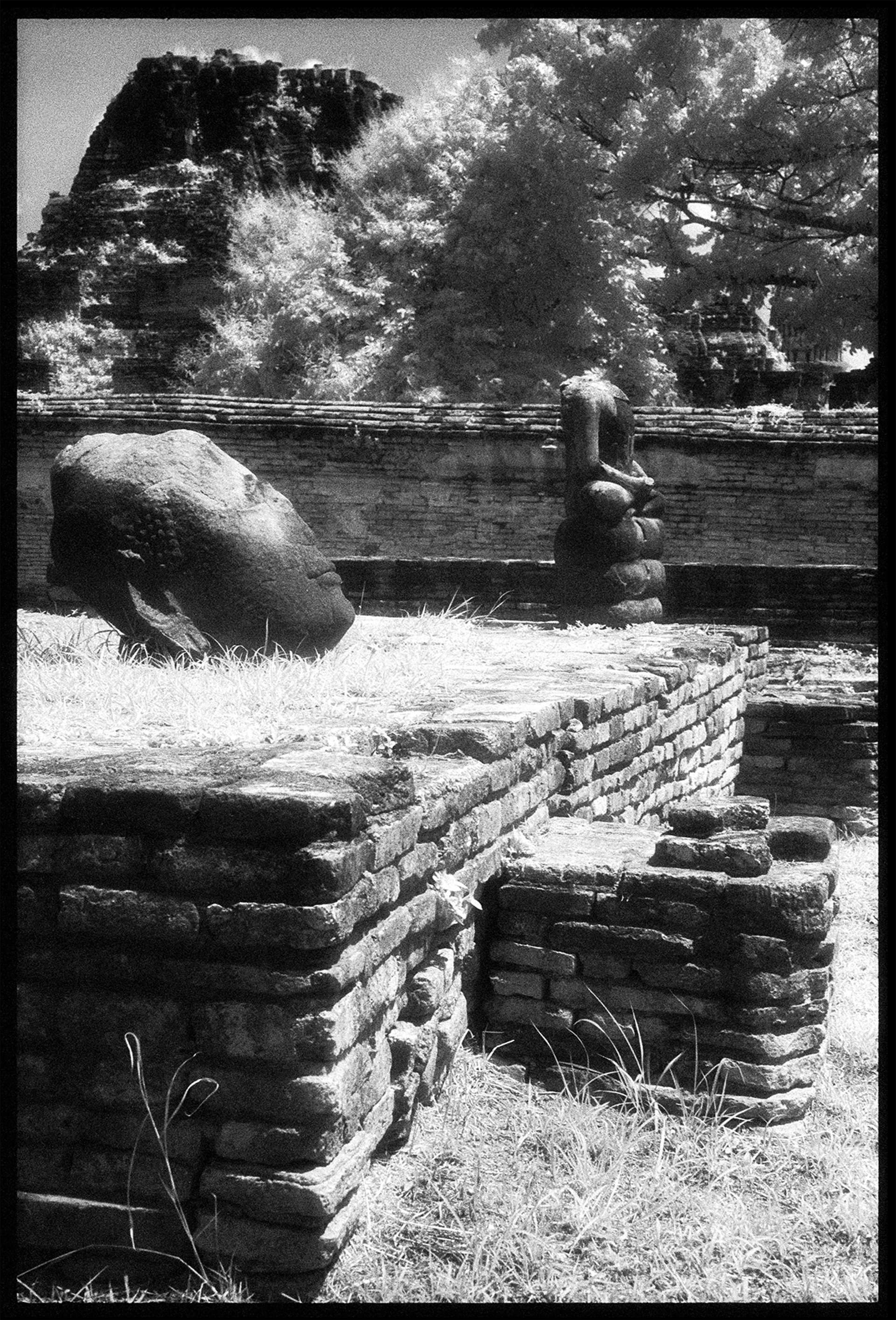 Ruins, Wat Phra by Edward C. Alfano