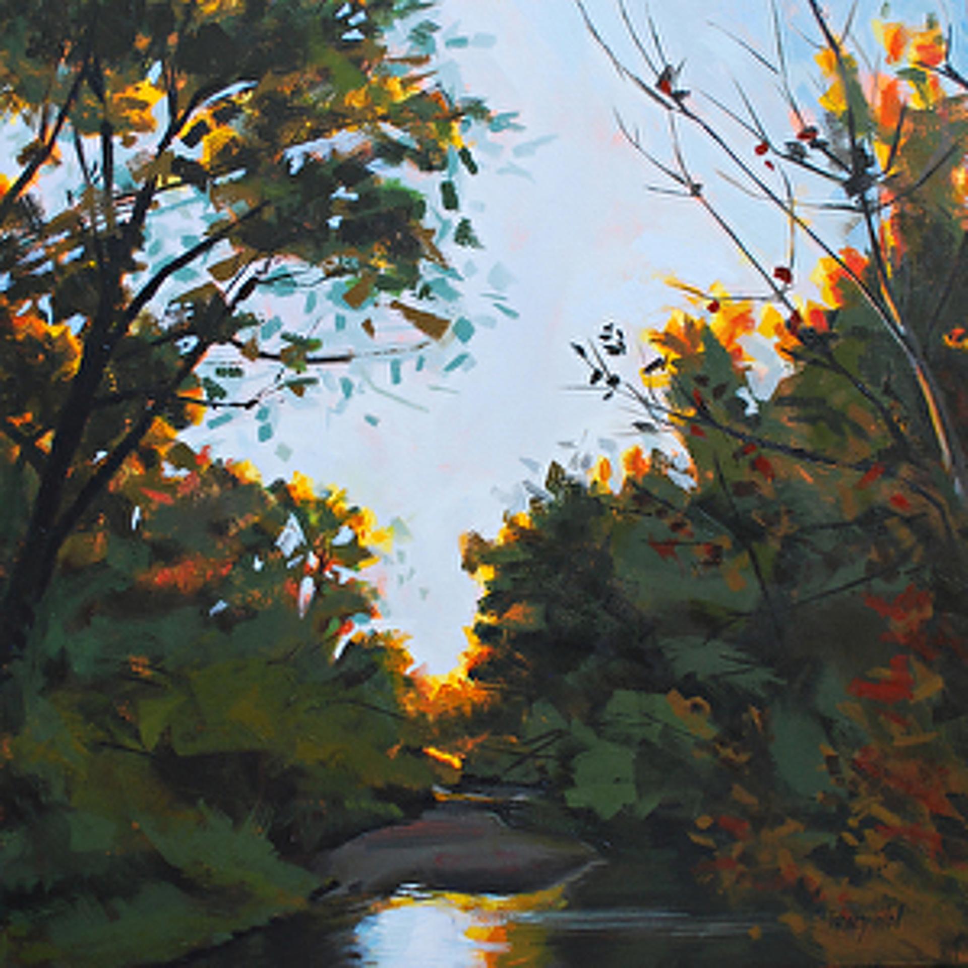 Cherry Creek Dusk by Tracy Wall