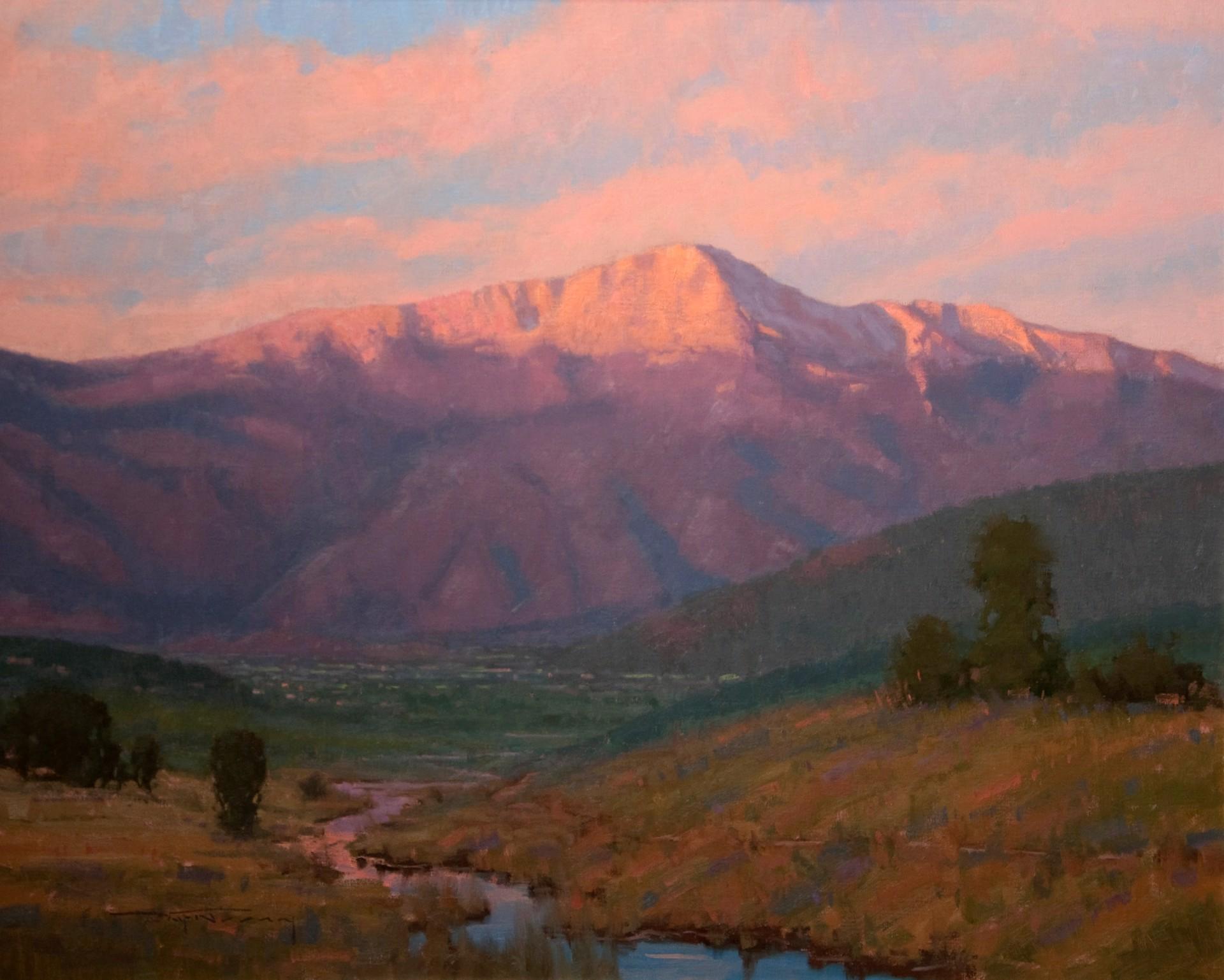 Purple Mountains Majesty by Warren Neary