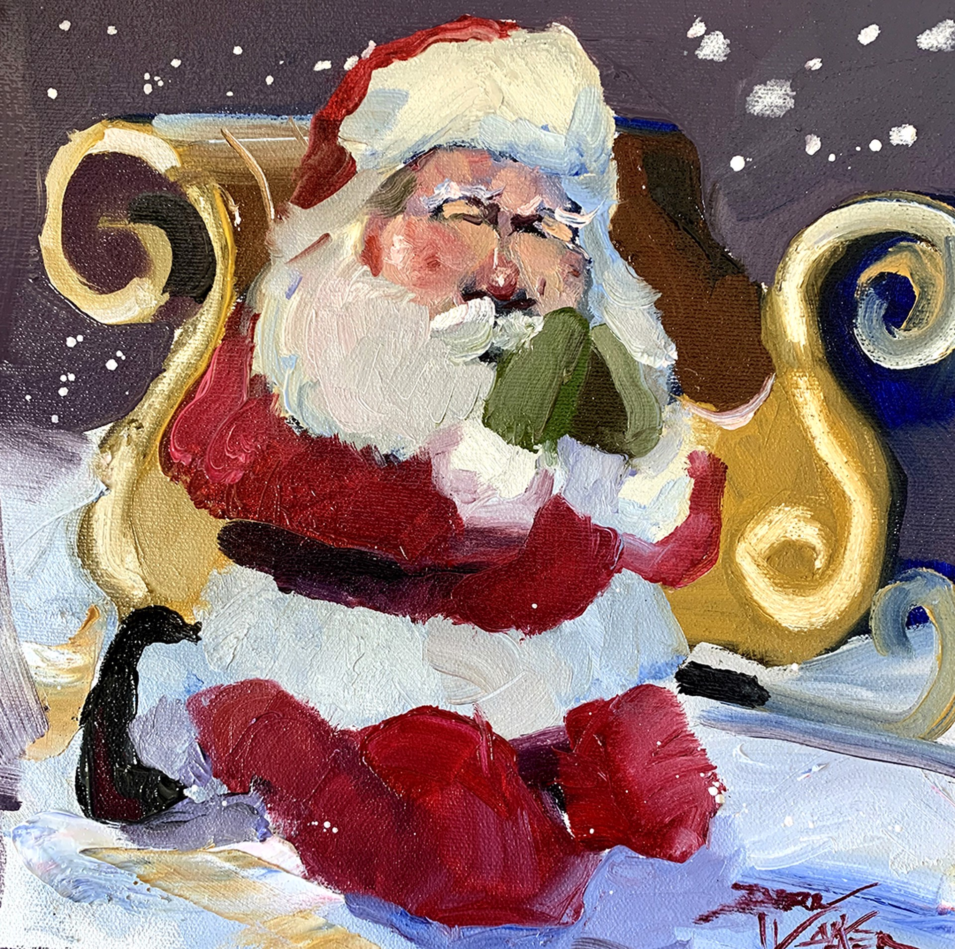 Santa's Prayers by Dirk Walker