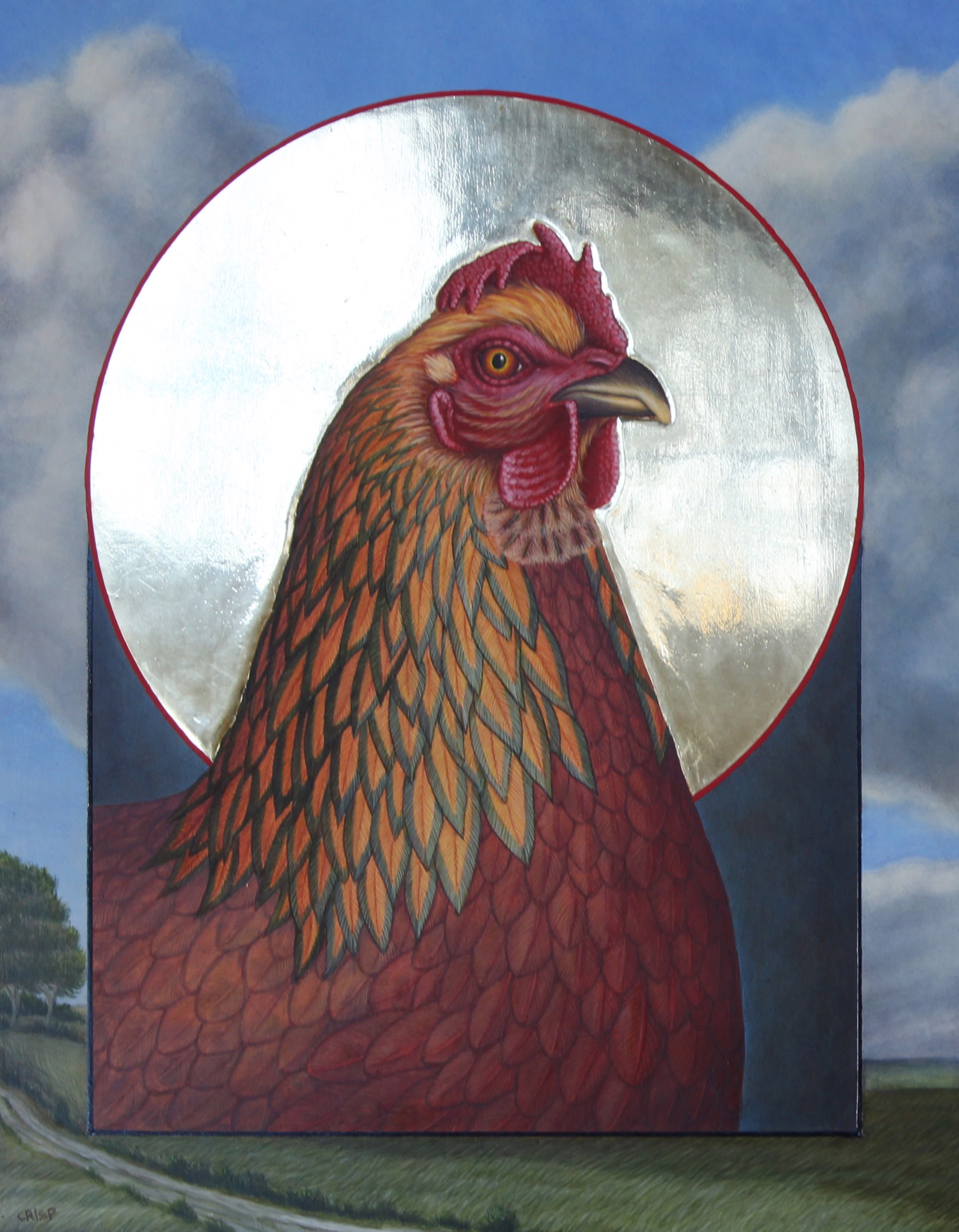 Ruisdal Hen by Margie Crisp