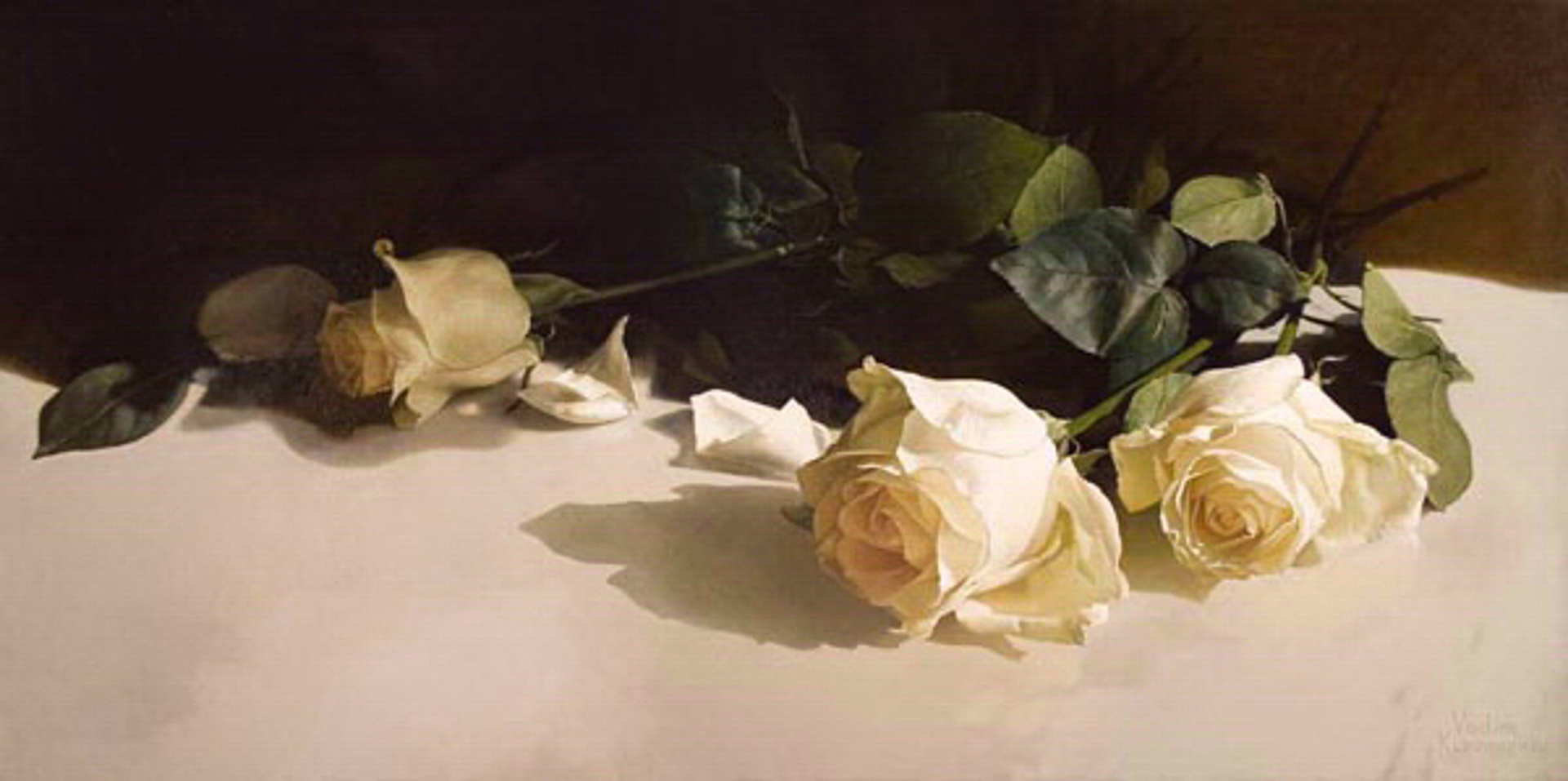 Long Stem Roses by Vadim Klevenskiy