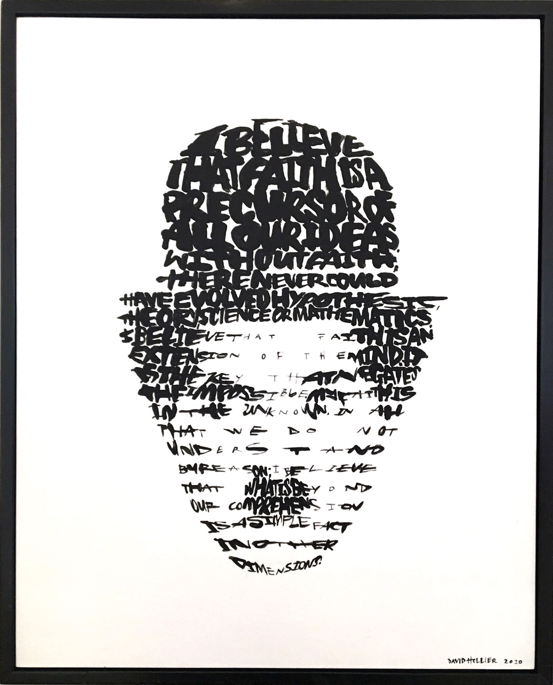 """Charlie Chaplin (Text: from """"My Autobiography"""" by C. Chaplin) by David Hollier"""