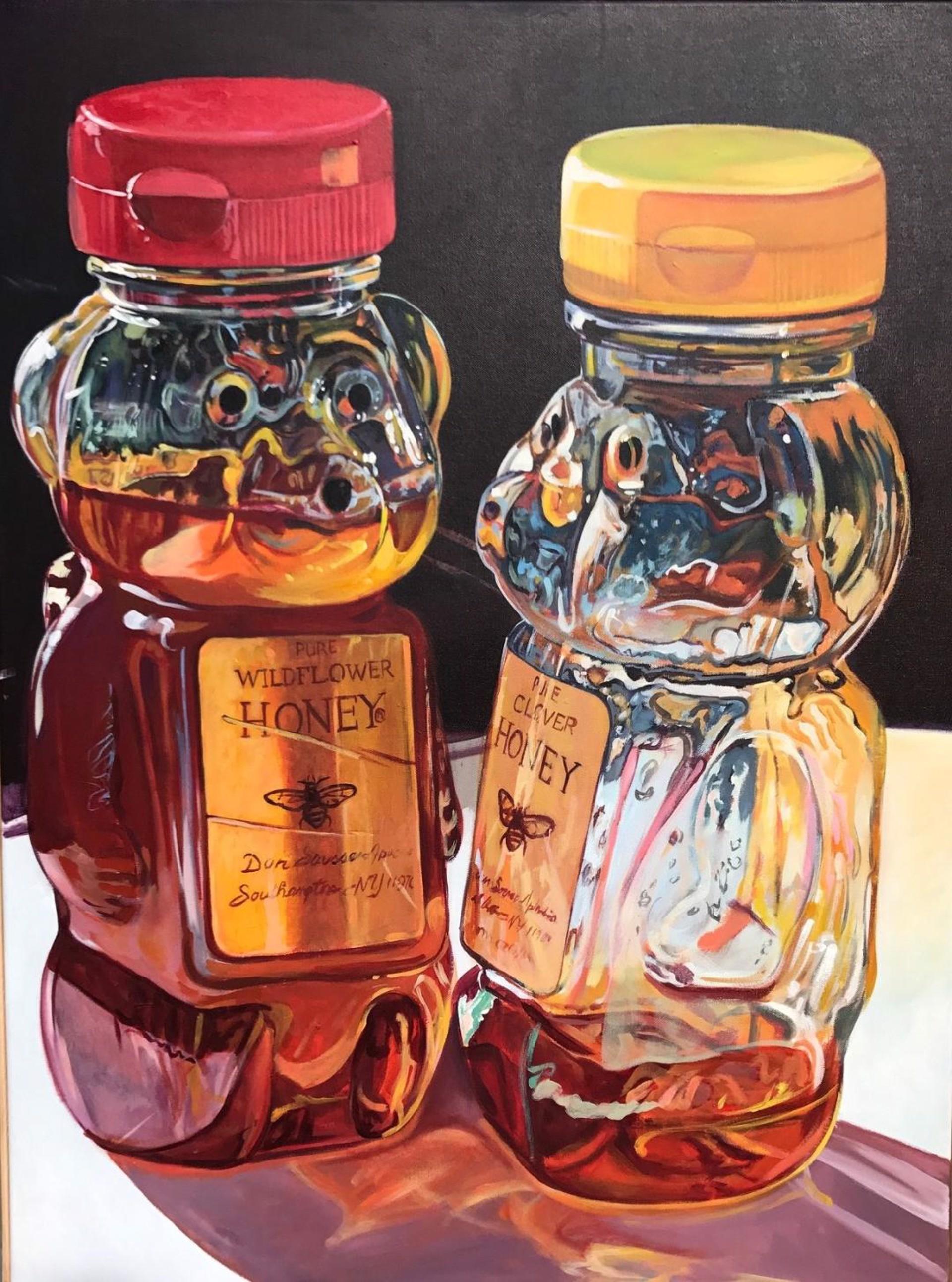 Honey Jars by Scott Hewett